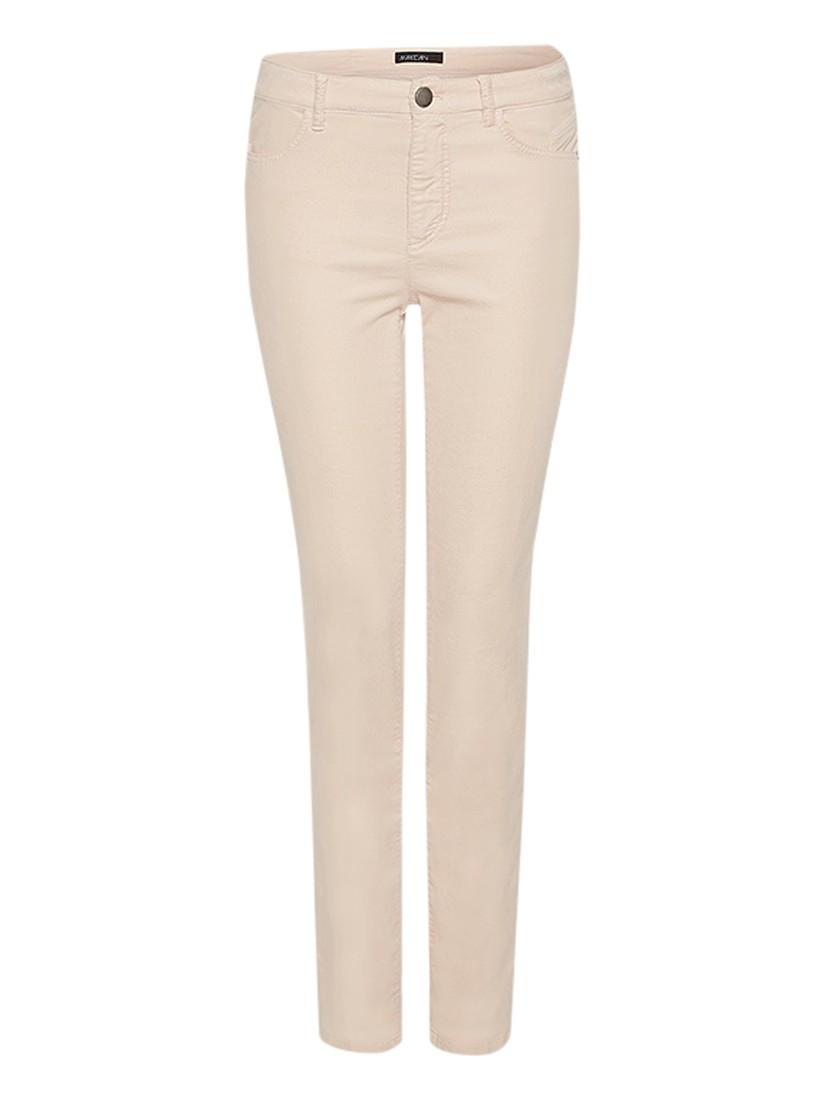 Marc Cain Velvet Slim Jeans in Pink