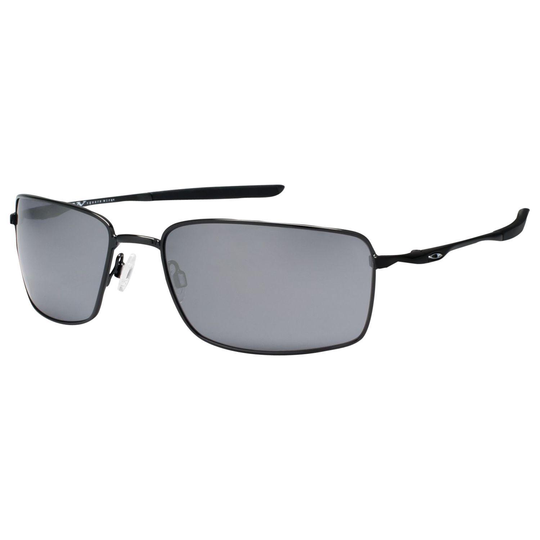 f85f7e46139 Oakley Oo4075 Square Wiretm Rectangular Frame Sunglasses in Black ...