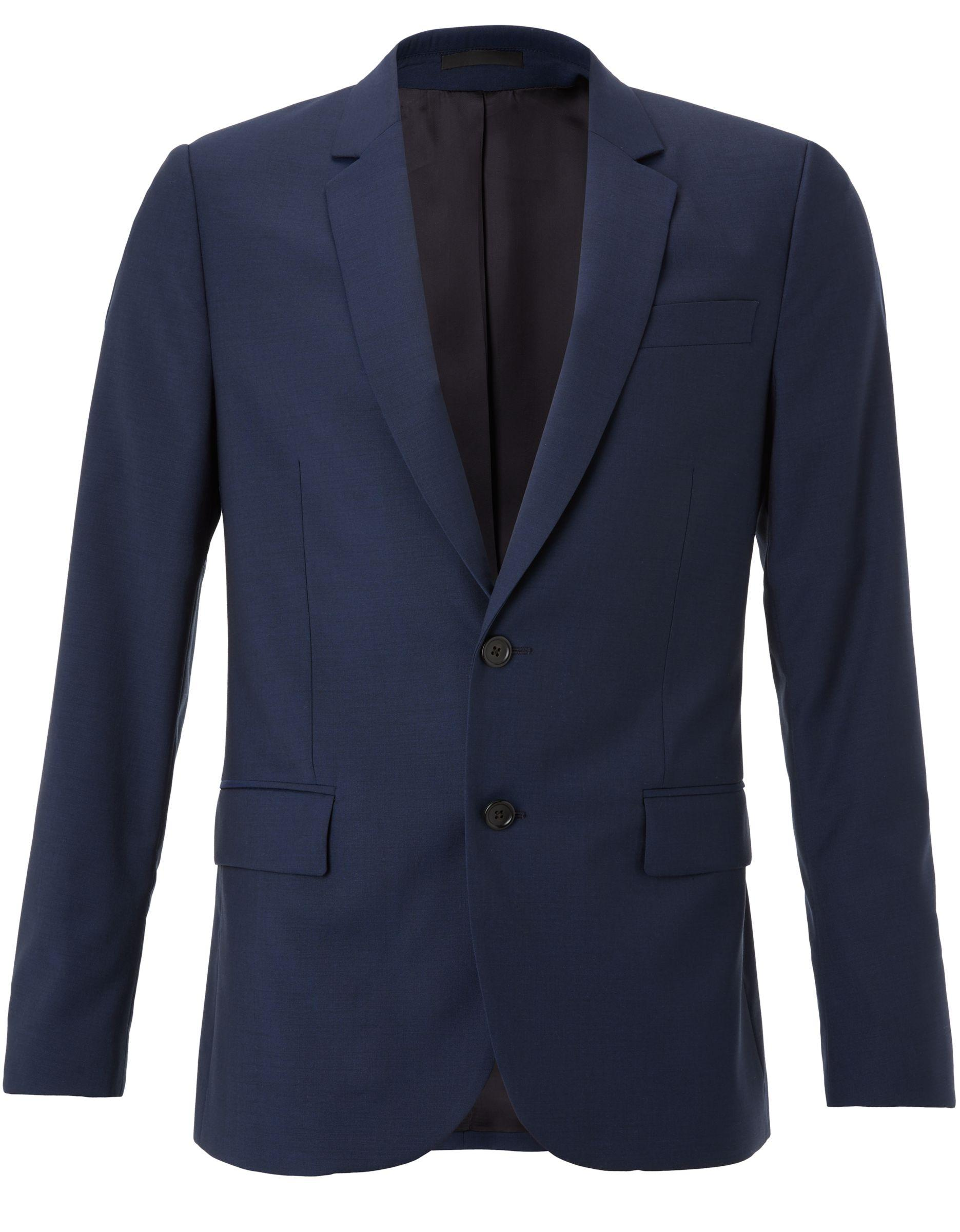 Paul Smith Ps Wool Mohair Tailored Fit Suit Jacket in Navy (Blue) for Men