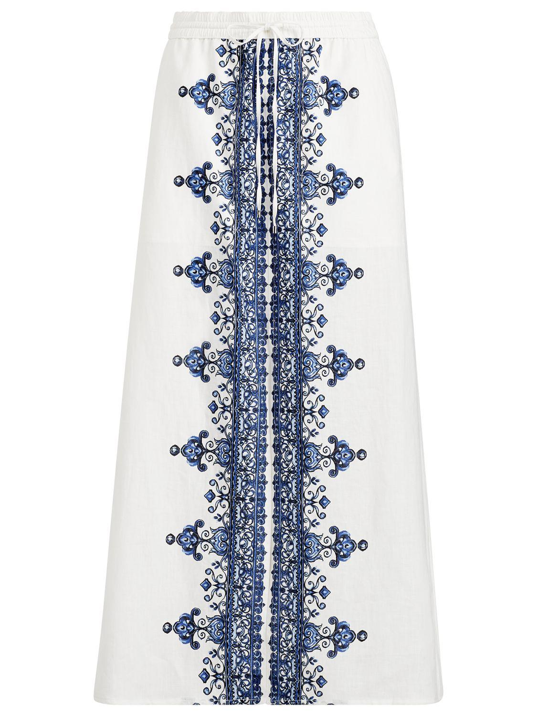 c8e89916e3 Ralph Lauren Lauren Orela Skirt in White - Save 77.77777777777777 ...