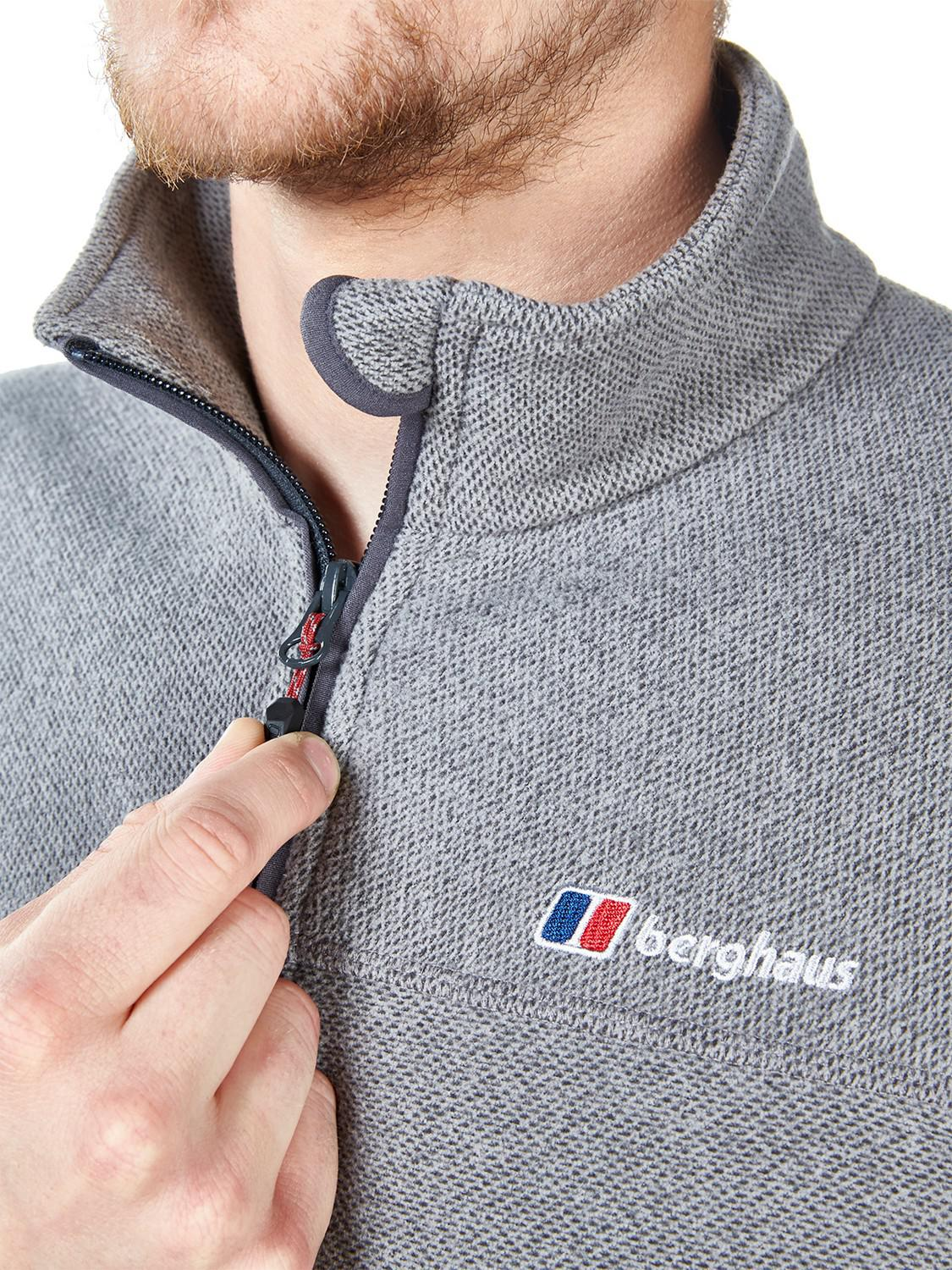 Berghaus Stainton Full Zip Men's Fleece in Grey (Grey) for Men