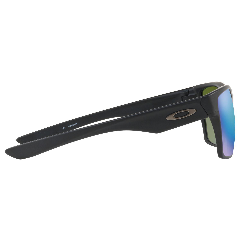 Oakley Oo9350 Two Face Xl Prizm Polarised Square Sunglasses in Black for Men