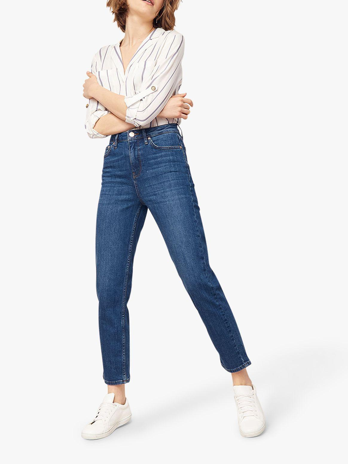 442d4edf2da7fd Oasis Denim 'olivia' Straight Leg Jeans in Blue - Save 20% - Lyst