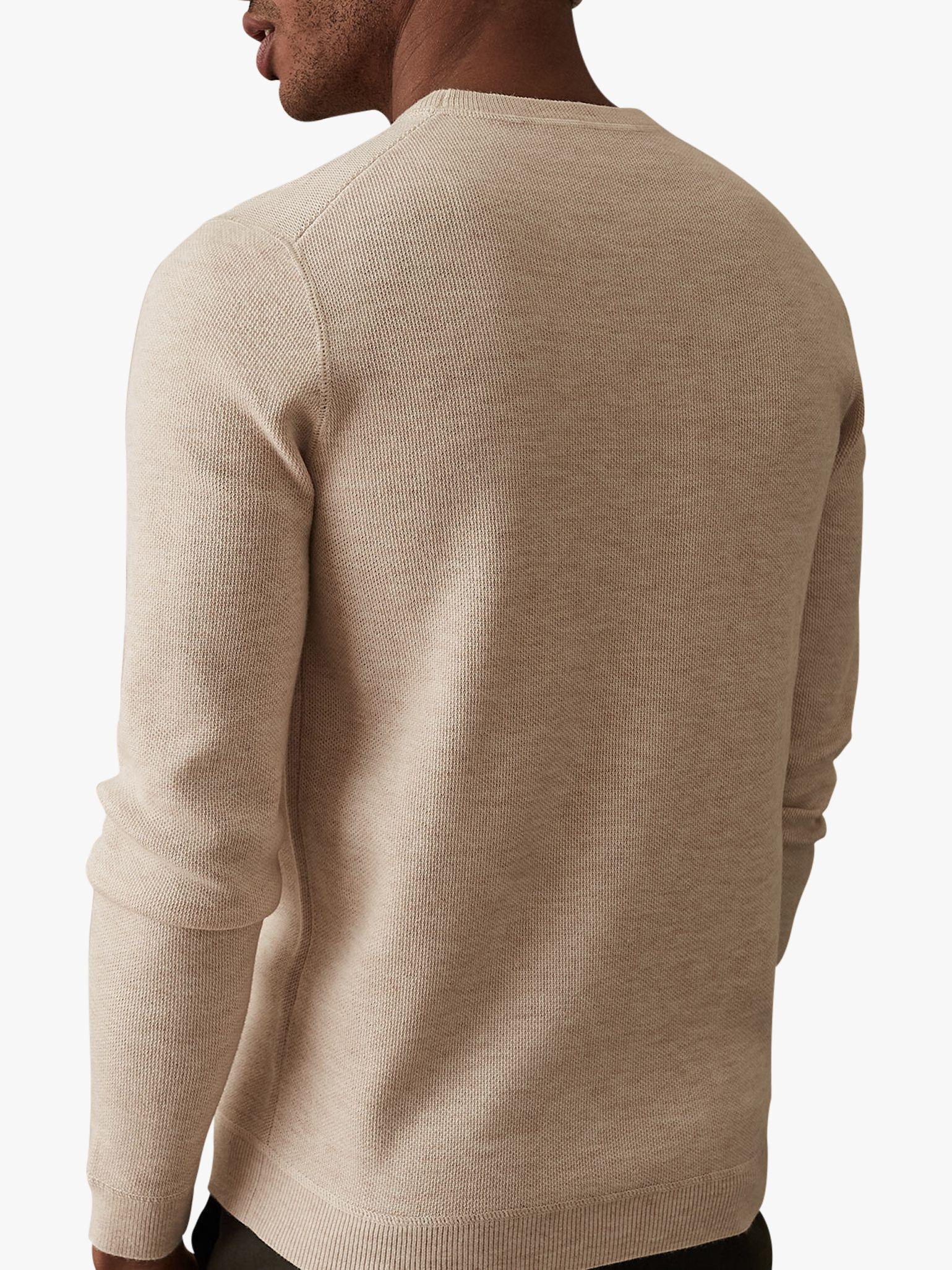 1356a1d9db6 Reiss Dakota Long Sleeve Honeycomb Jumper for Men - Lyst