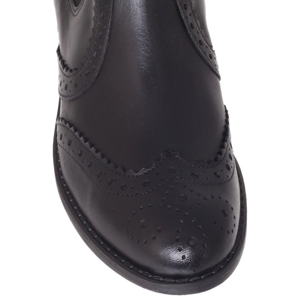 Carvela Kurt Geiger Slow Leather Chelsea Boots in Black