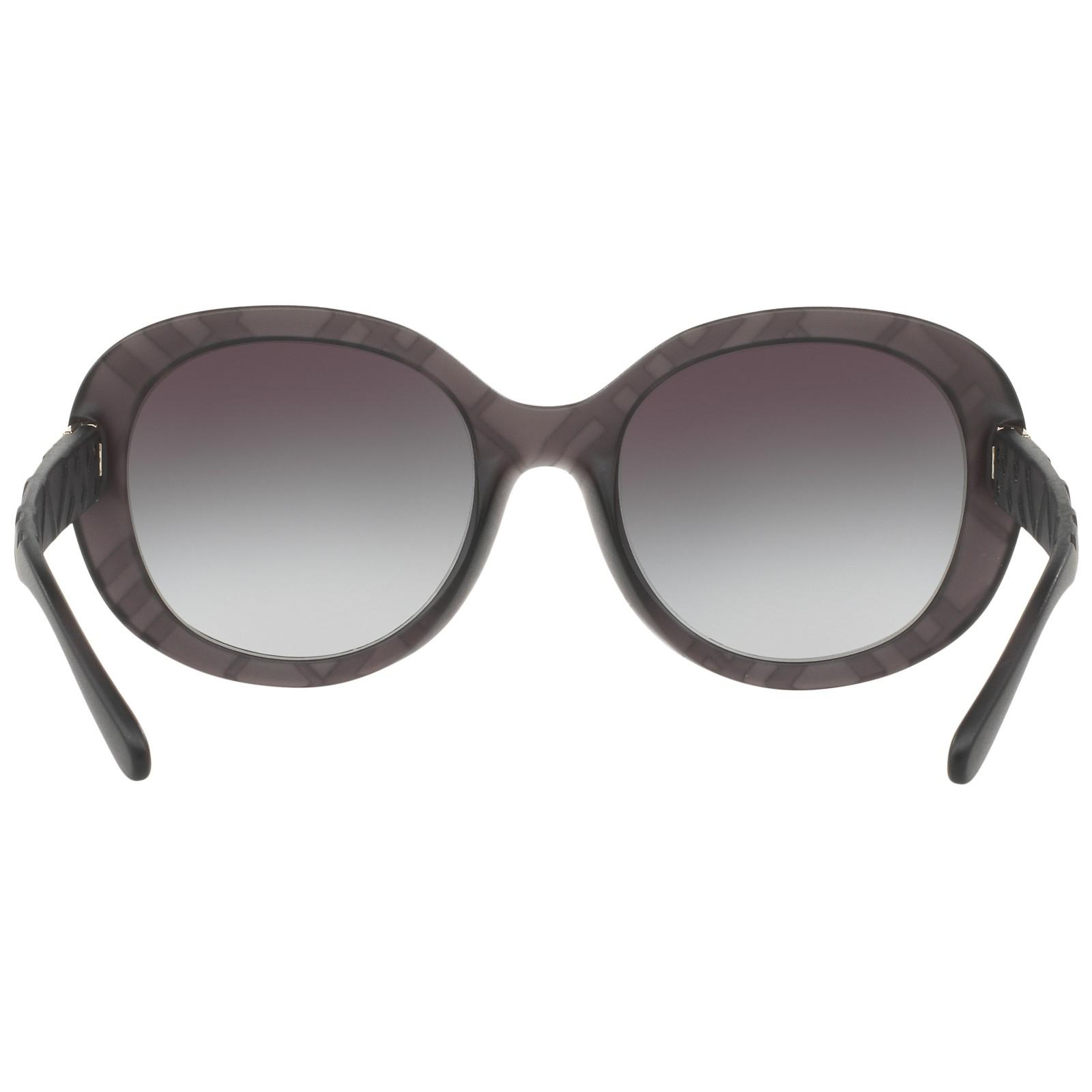 Burberry Be4218 Gradient Oval Sunglasses