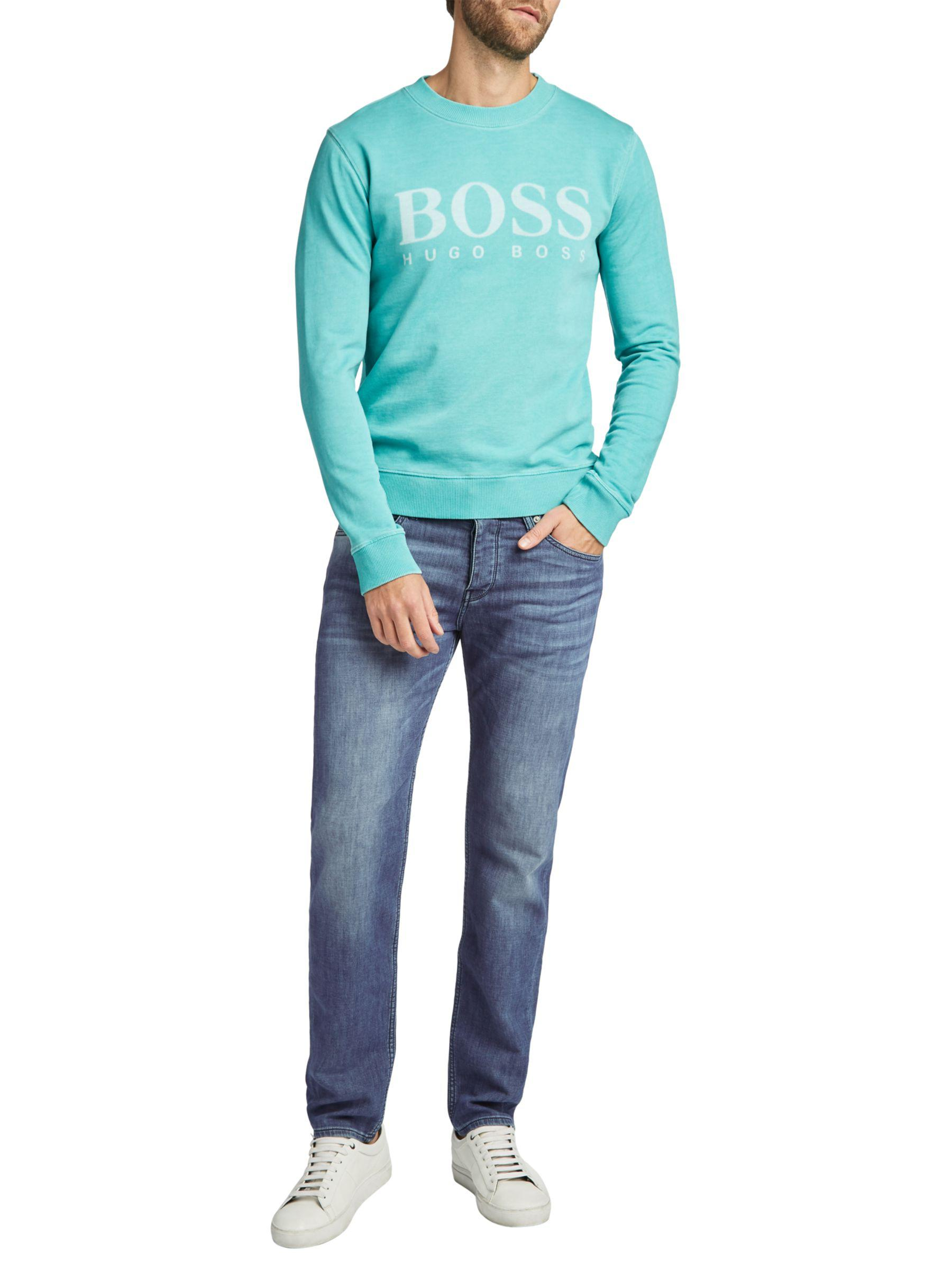 new images of clearance prices unparalleled BOSS Boss Orange 90-p Tapered Stretch Skinny Jeans in Blue ...