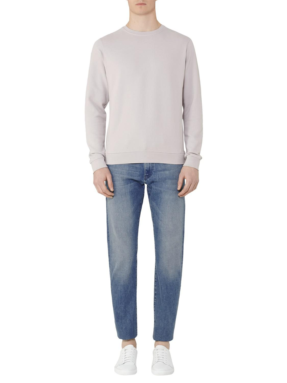 Reiss Cotton Fenton Knit Sweatshirt for Men