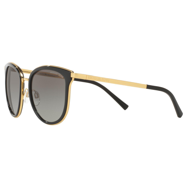 Michael Kors Mk1010 Adrianna Oval Sunglasses in Black