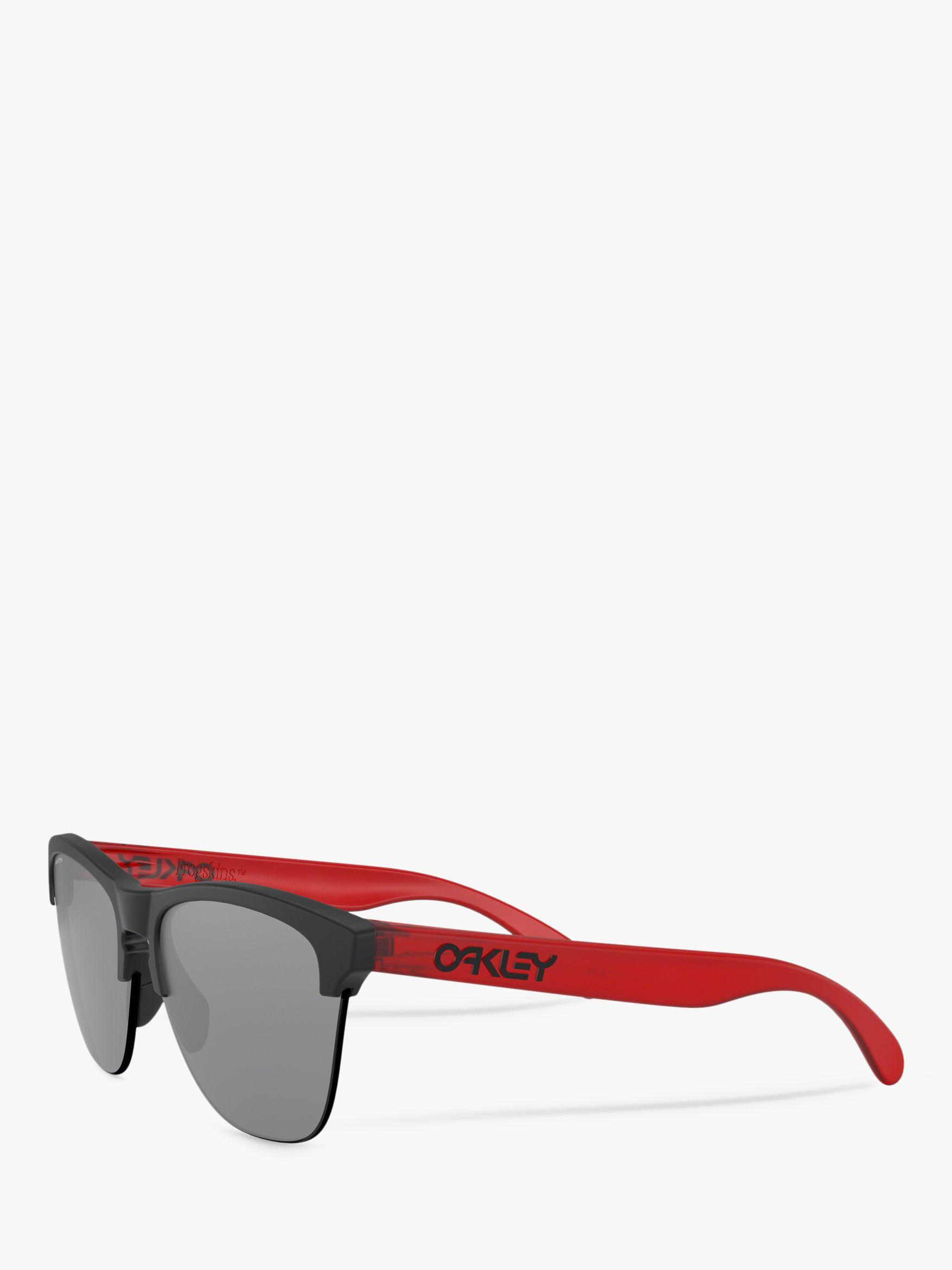 095841376e Oakley Oo9374 Men s Frogskins Lite Round Sunglasses in Red for Men ...