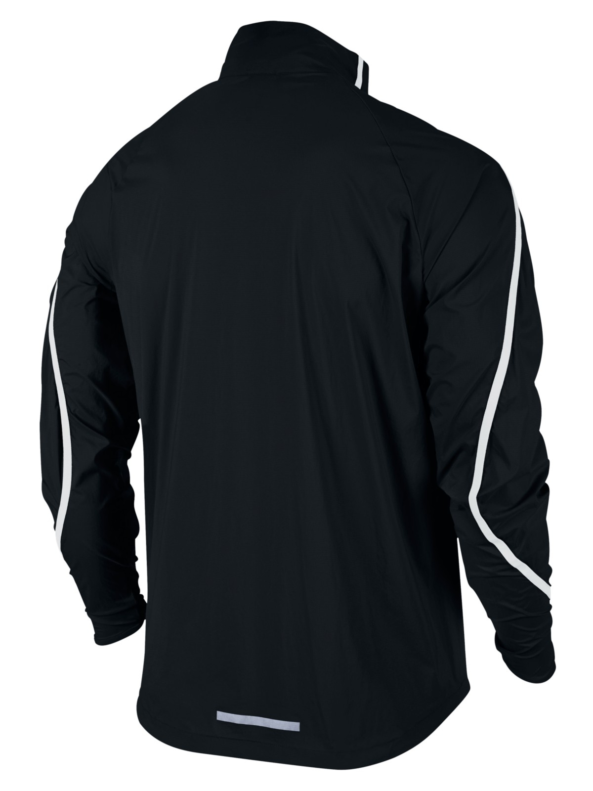 Nike Synthetic Shield Impossibly Light Running Jacket in Black for Men