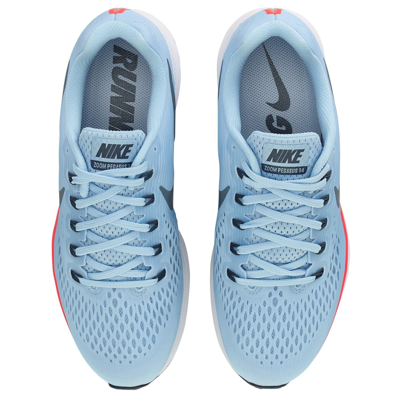 Nike Rubber Air Zoom Pegasus 34 Men's Running Shoes in Blue for Men