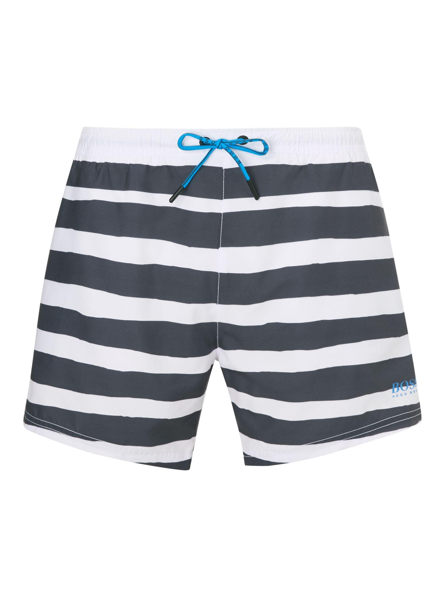 9cd05ae667 BOSS Scorpion Swim Shorts in Blue for Men - Lyst