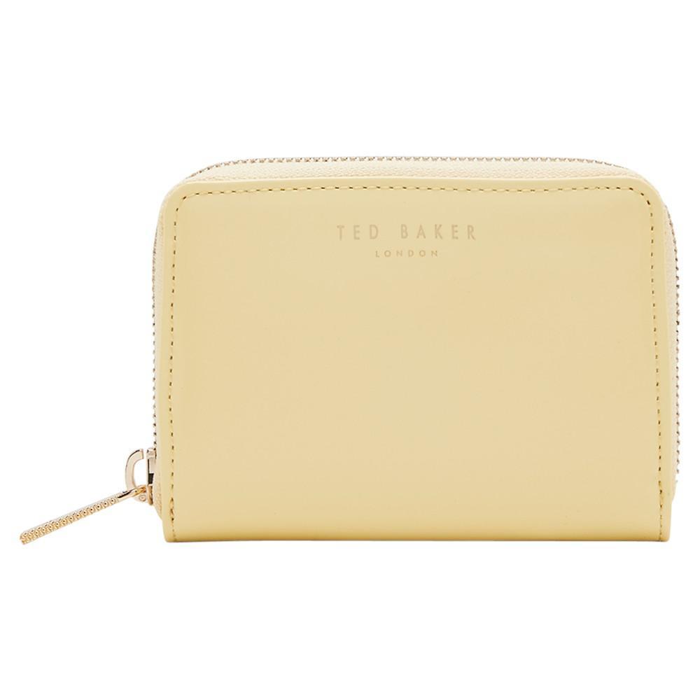e40a435e8efe Ted Baker Beryl Colour Block Leather Purse - Lyst