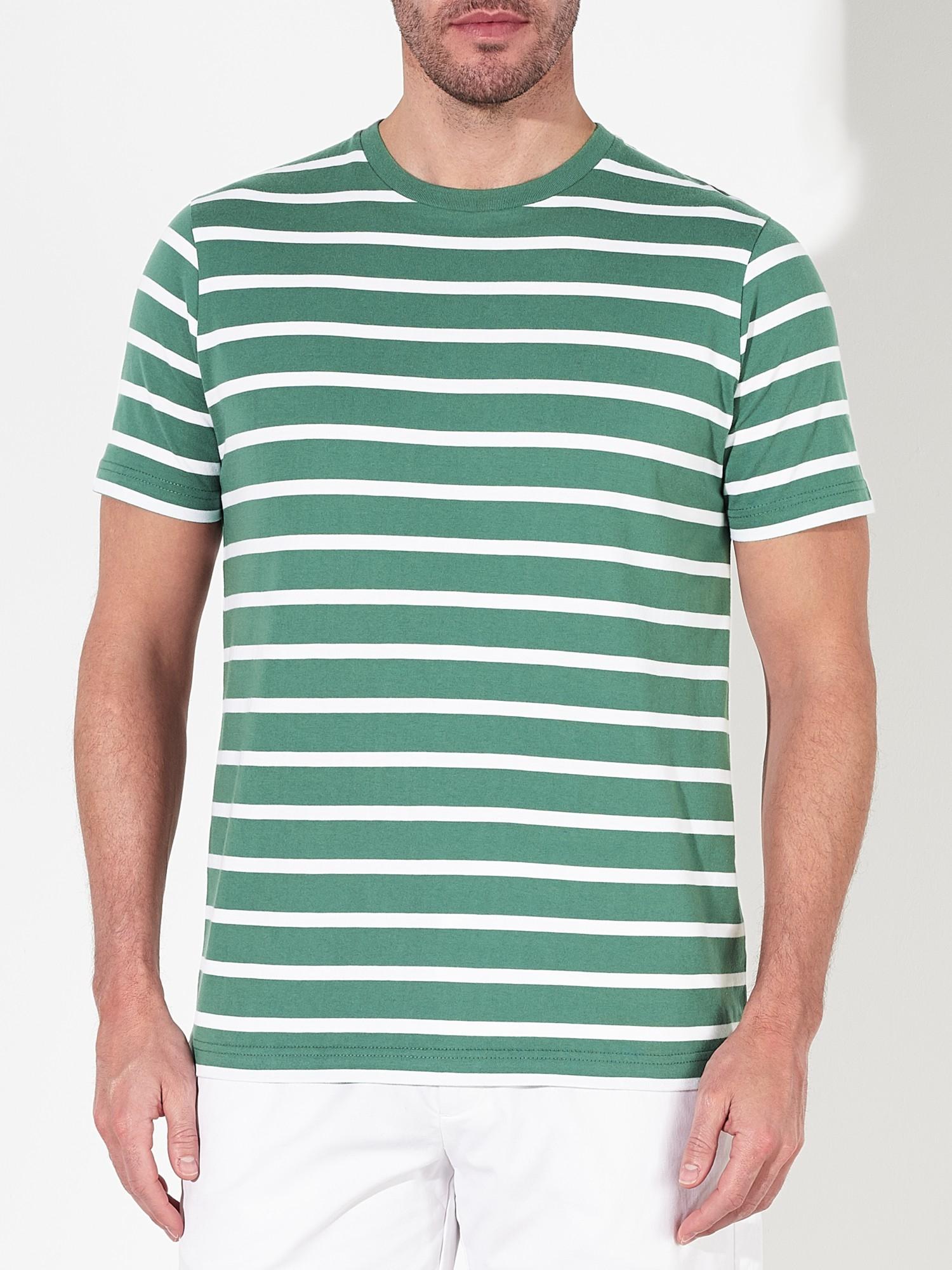 john lewis organic cotton breton stripe t shirt in white. Black Bedroom Furniture Sets. Home Design Ideas