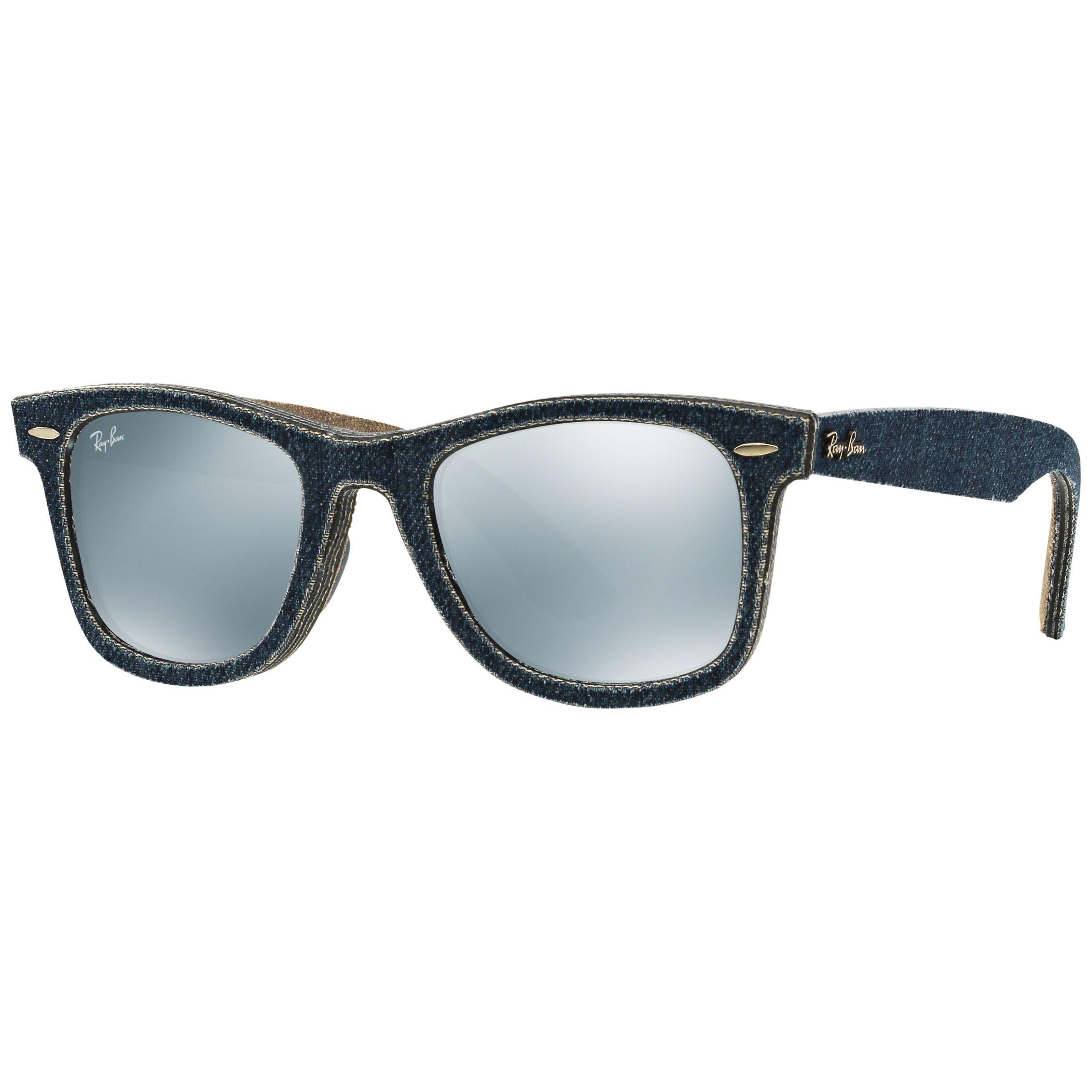 5397421986 Ray-Ban Rb2140 Original Wayfarer Denim Sunglasses in Green for Men ...