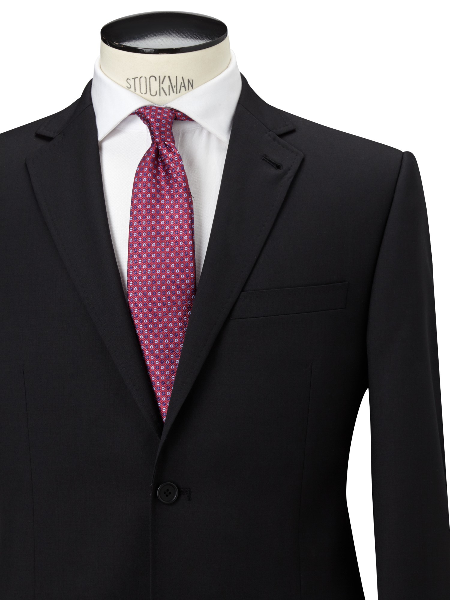 Ted Baker Wool Coinonj Tailored Fit Suit Jacket in Black for Men