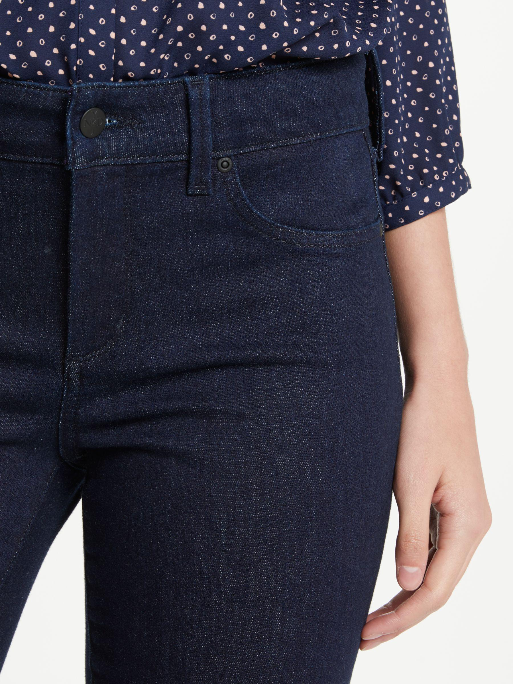 John Lewis Denim Nydj Sheri Slim Jeans in Rinse (Blue)