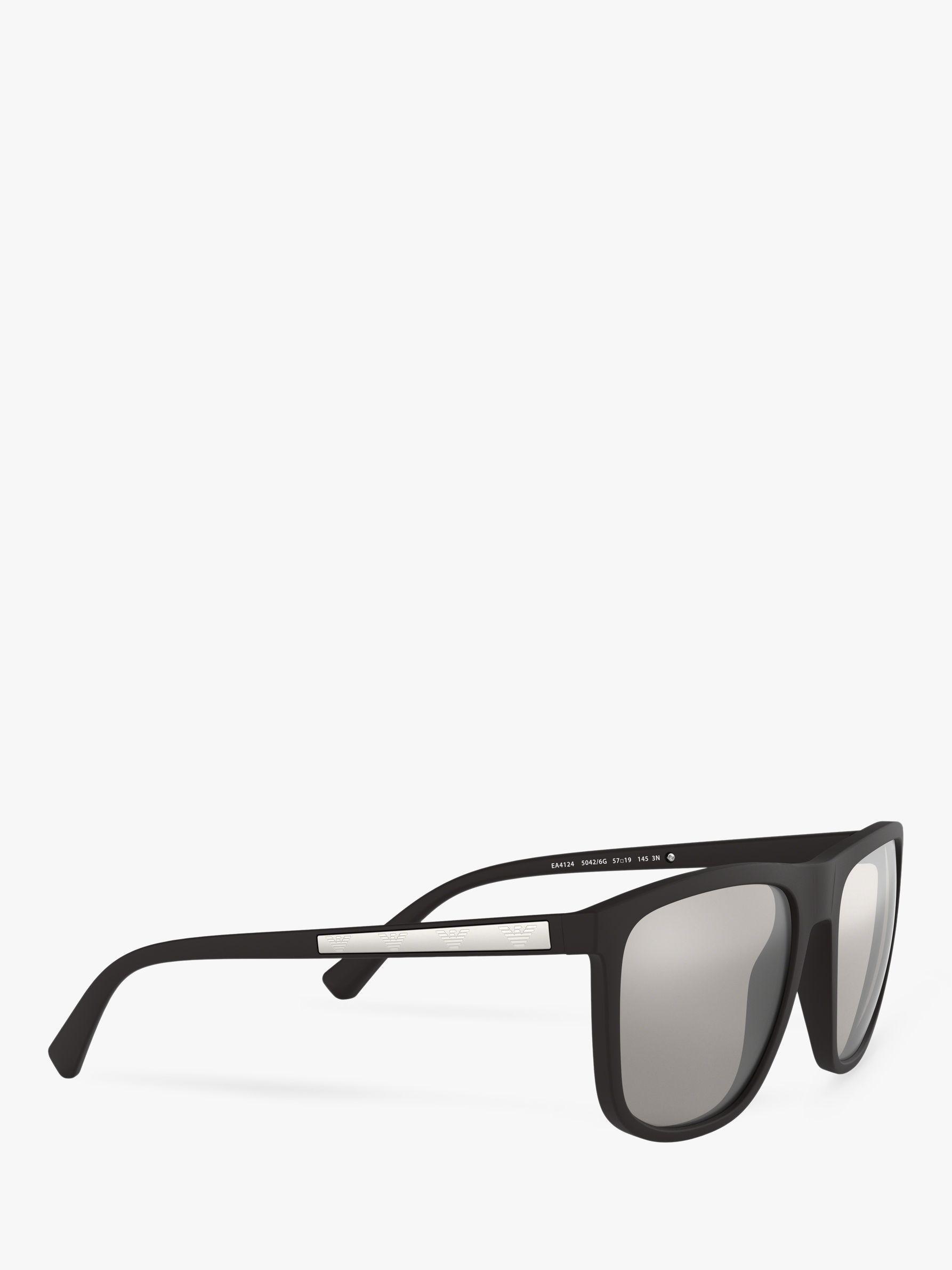 5815b69ce9d7c Emporio Armani Ea4123 Men s Square Sunglasses in Black for Men - Lyst
