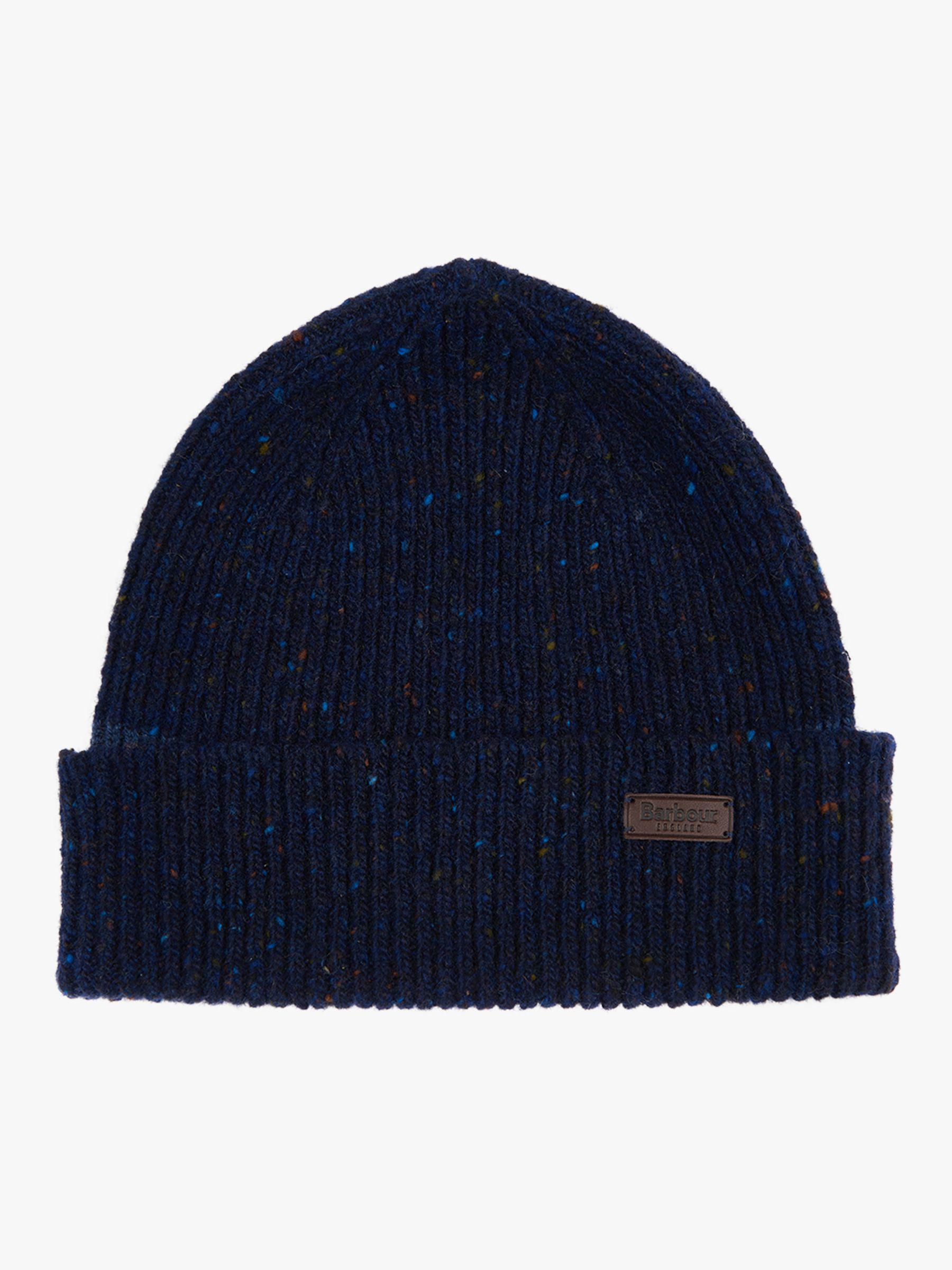 d9c6dd377581b Barbour Lowerfell Donegal Wool Beanie in Blue for Men - Lyst