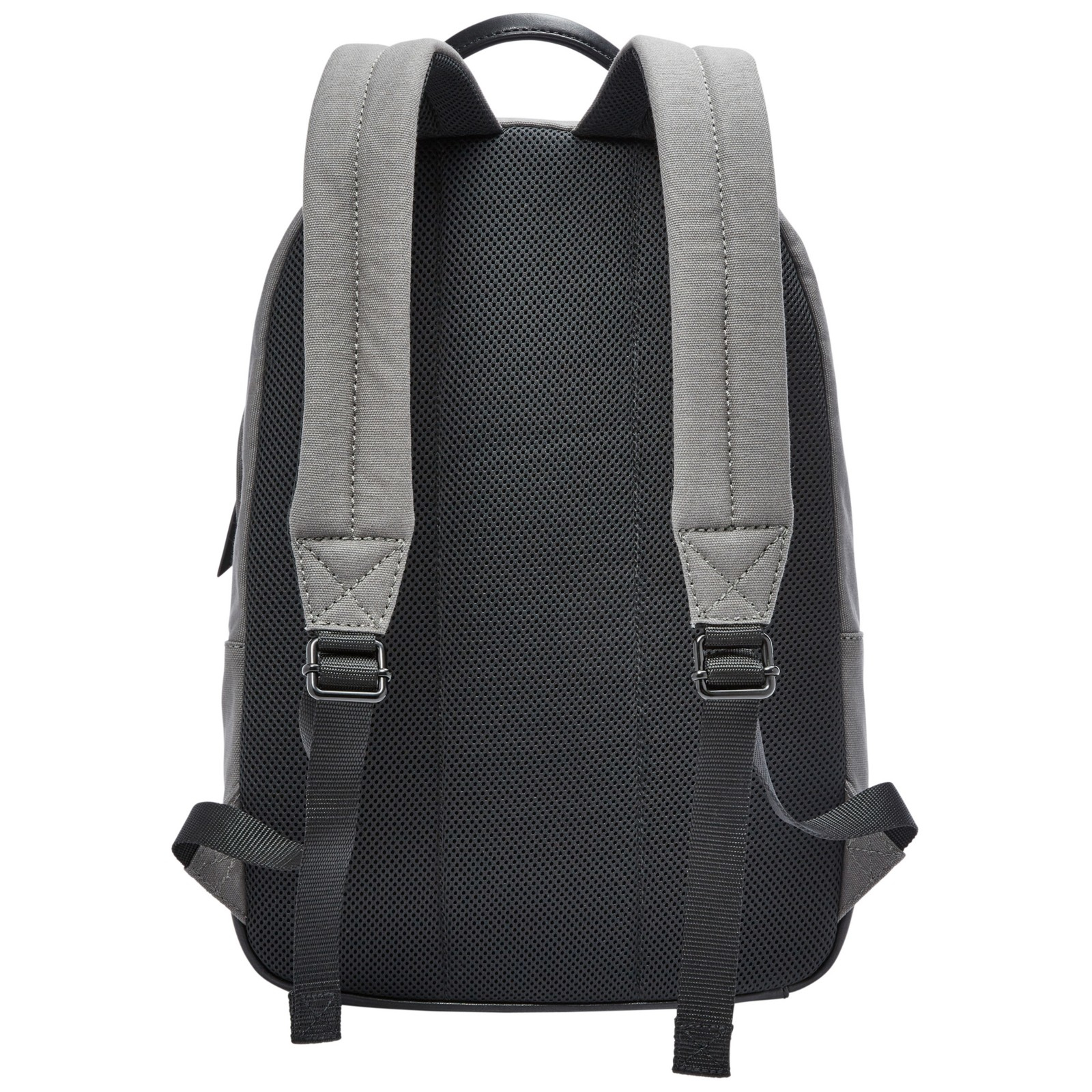 Fossil Estate Canvas Backpack in Grey (Grey)