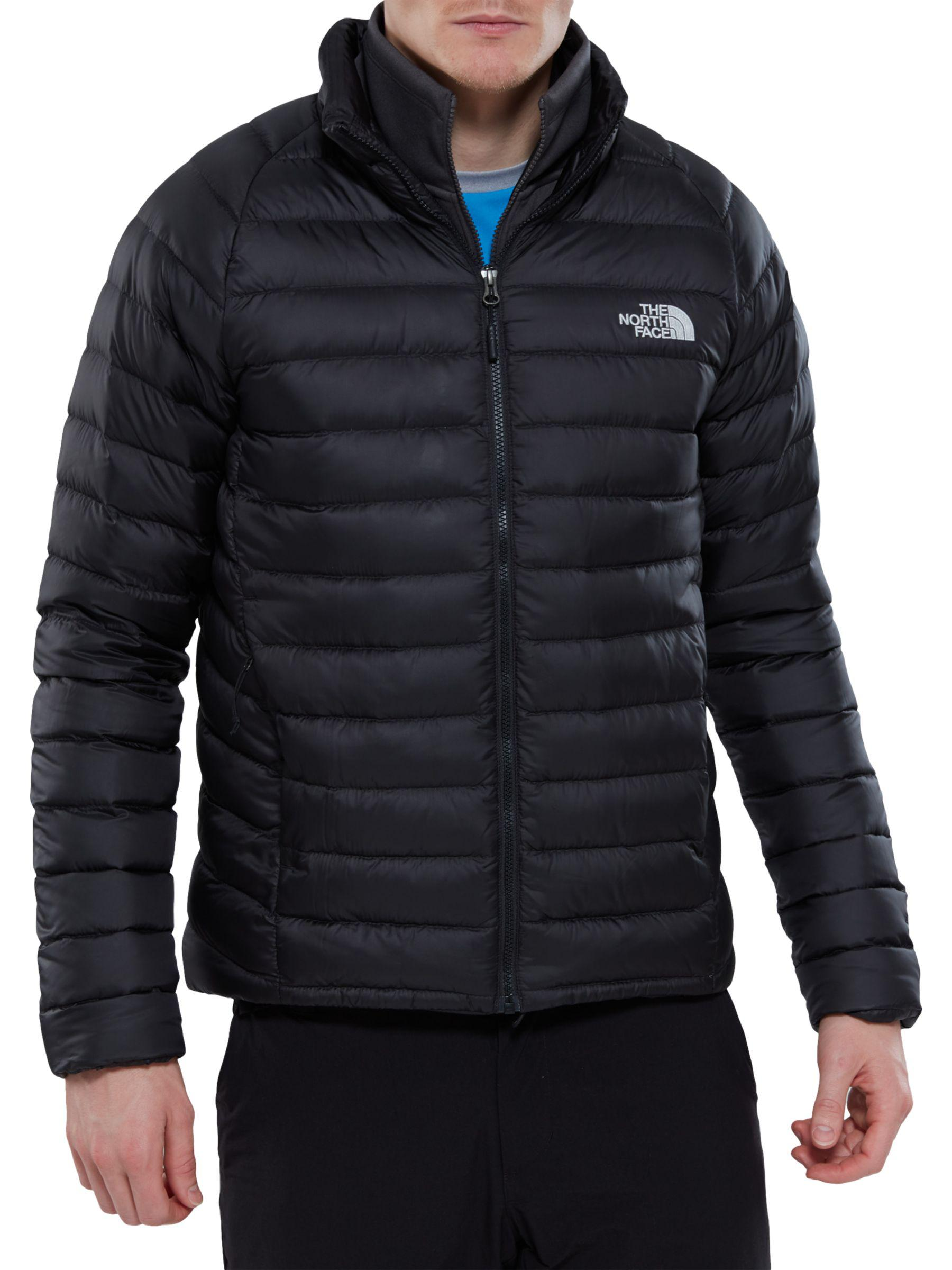 The North Face Goose Men's Waterproof Trevail Jacket in Black for Men
