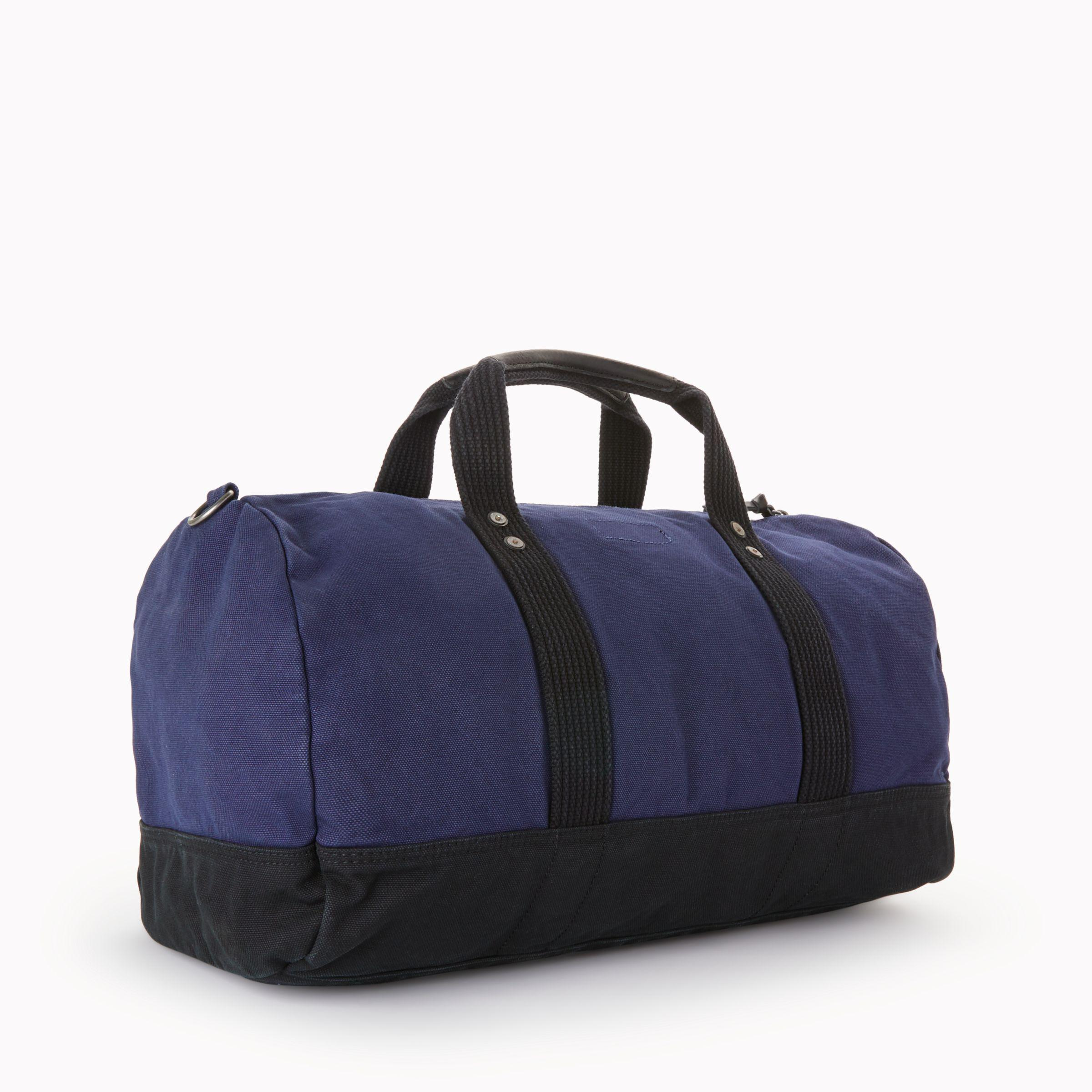 18315f4d9836 ... new zealand john lewis polo ralph lauren canvas big pony duffle bag in  blue for 02a3e