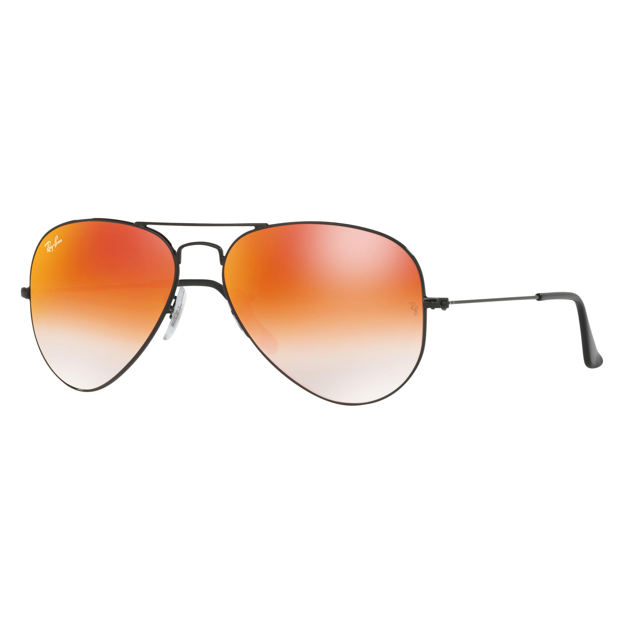 5dac845b28 Ray-Ban Rb3025 Aviator Flash Lenses Sunglasses for Men - Lyst