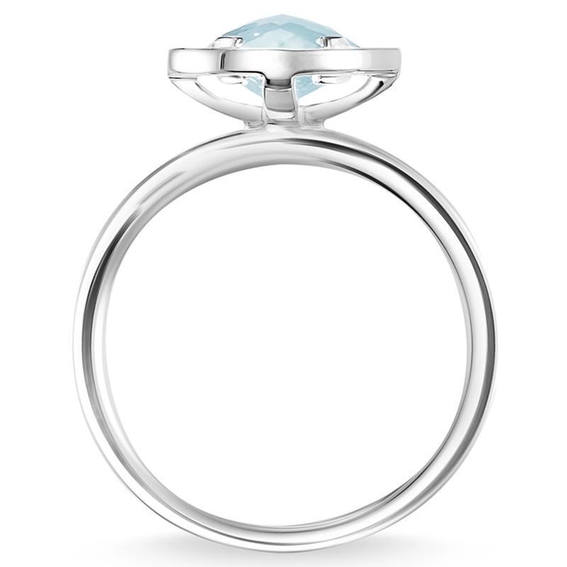 Thomas Sabo Light Of Luna Ring in Metallic