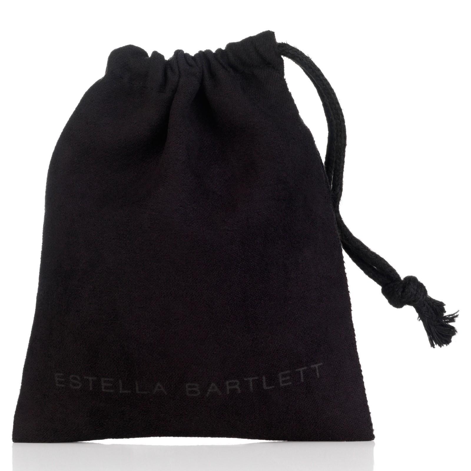 Estella Bartlett Fine Sterling Silver Engraved Heart Locket Pendant in Metallic