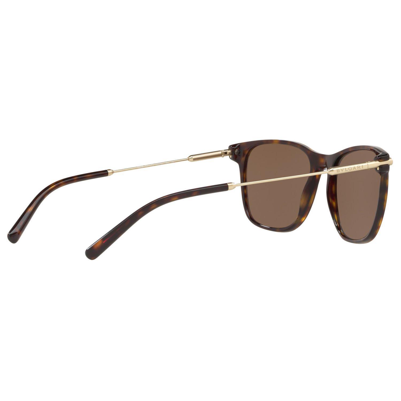 BVLGARI Bv7032 Men's D-frame Sunglasses in Tortoise/Brown (Brown) for Men