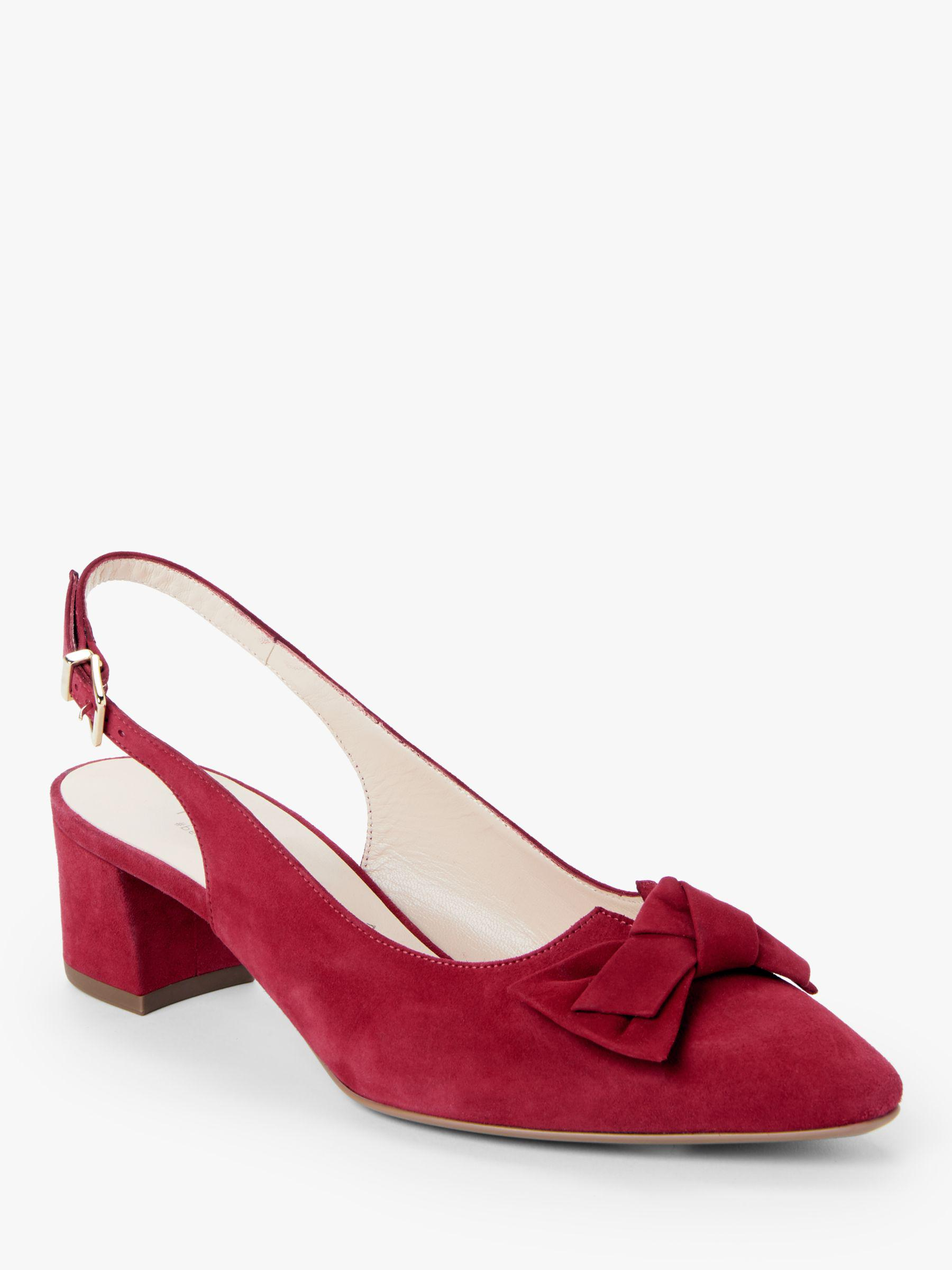ca07194b757 Peter Kaiser Bojana Bow Slingback Court Shoes in Red - Lyst