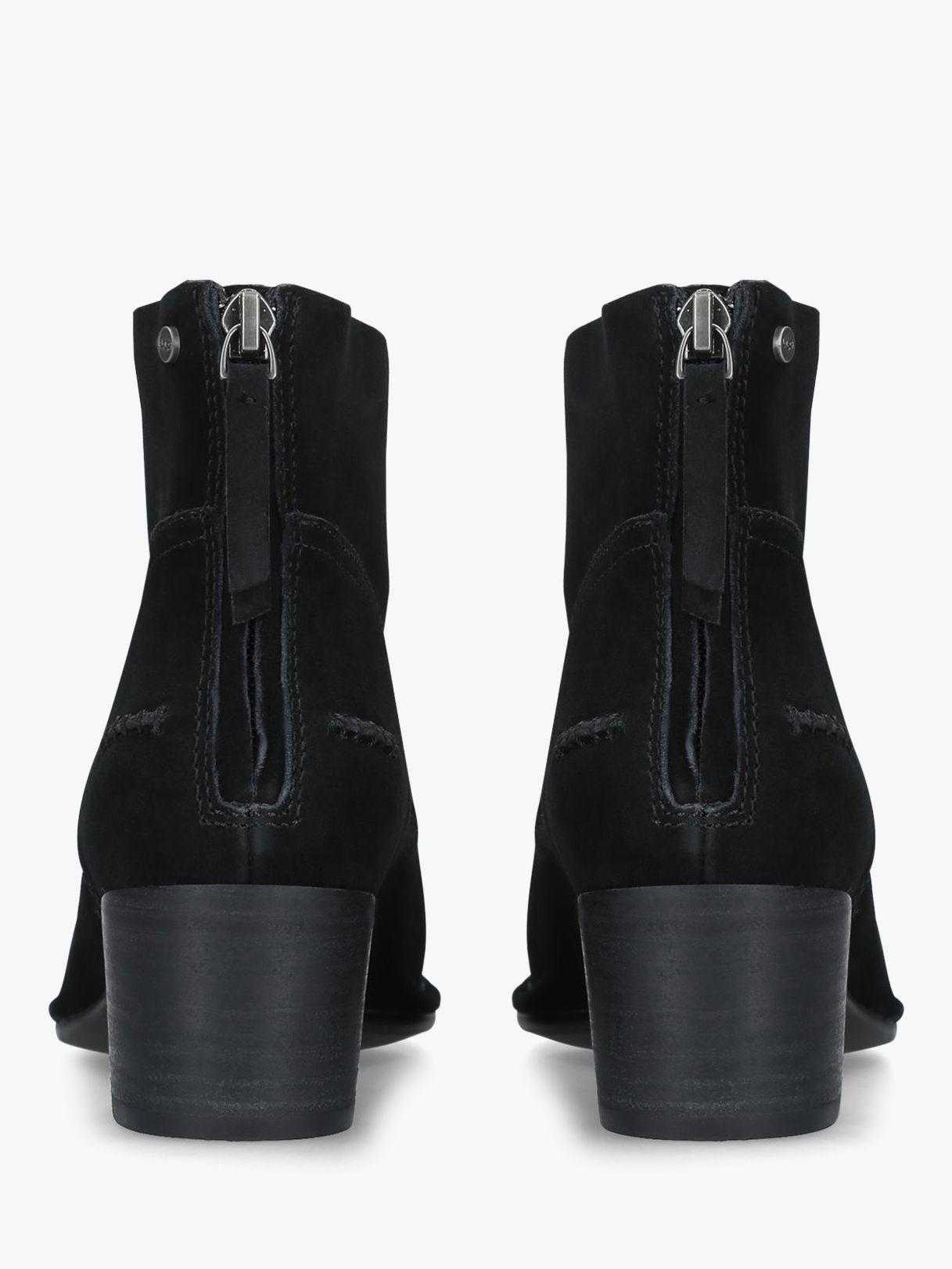 861e504f344 Ugg Black Bandara Block Heel Ankle Boots