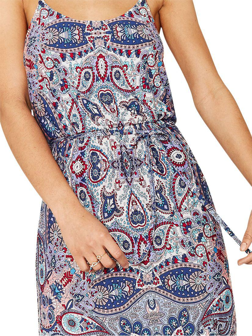 0352df9a45df Oasis Paisley Cami Dress in Blue - Lyst