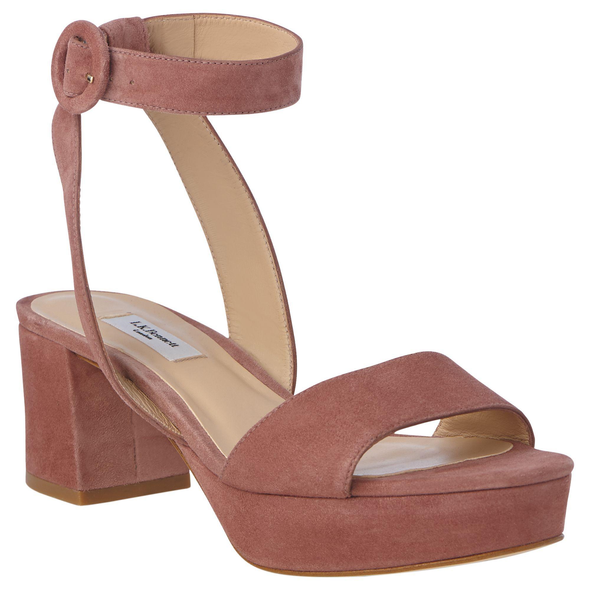 bc94c88fbd12 L.K.Bennett Alie Formal Sandals in Pink - Lyst