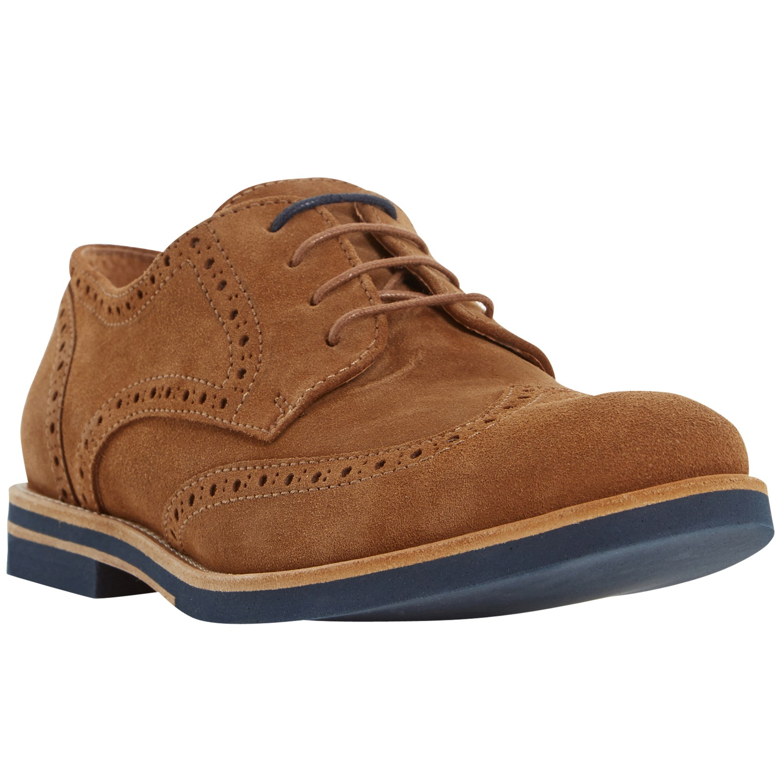 Dune Suede Benito Brogues for Men