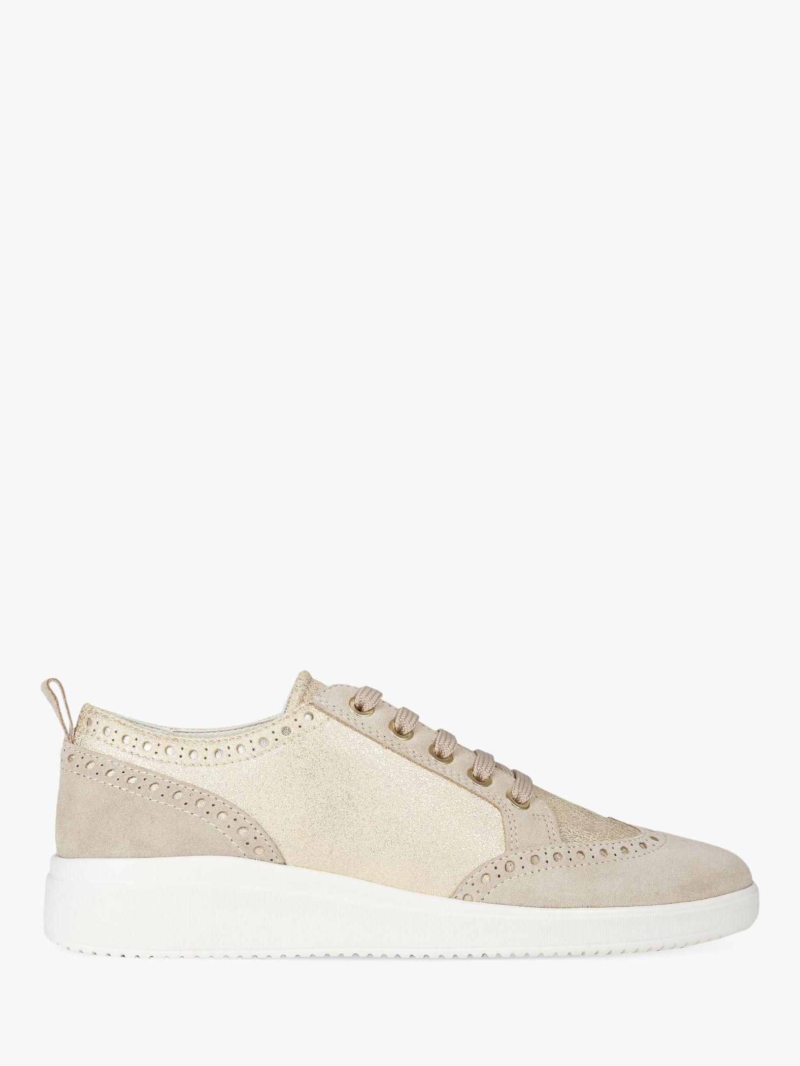 166297c572b1 Geox Women's Tahina Lace Up Trainers - Lyst