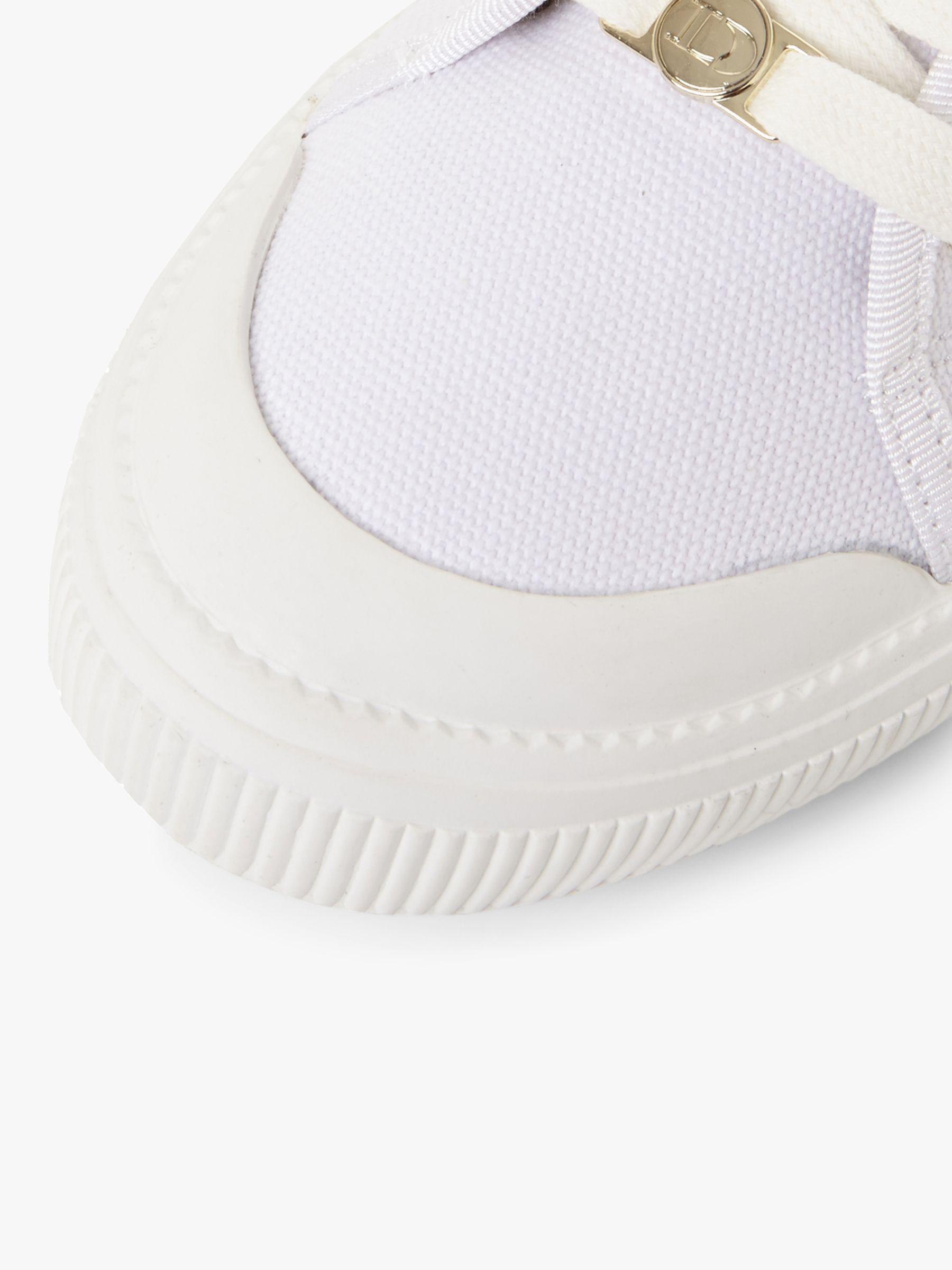 Dune Eswyn Lace Up Canvas Trainers in