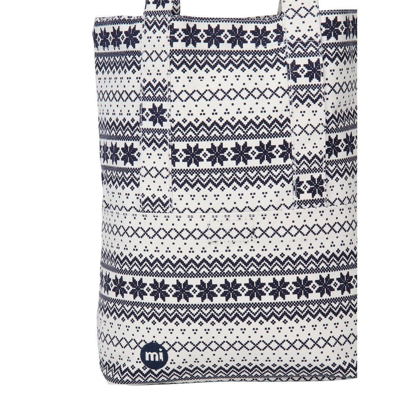 Mi-Pac Wool Fair Isle Tote Bag