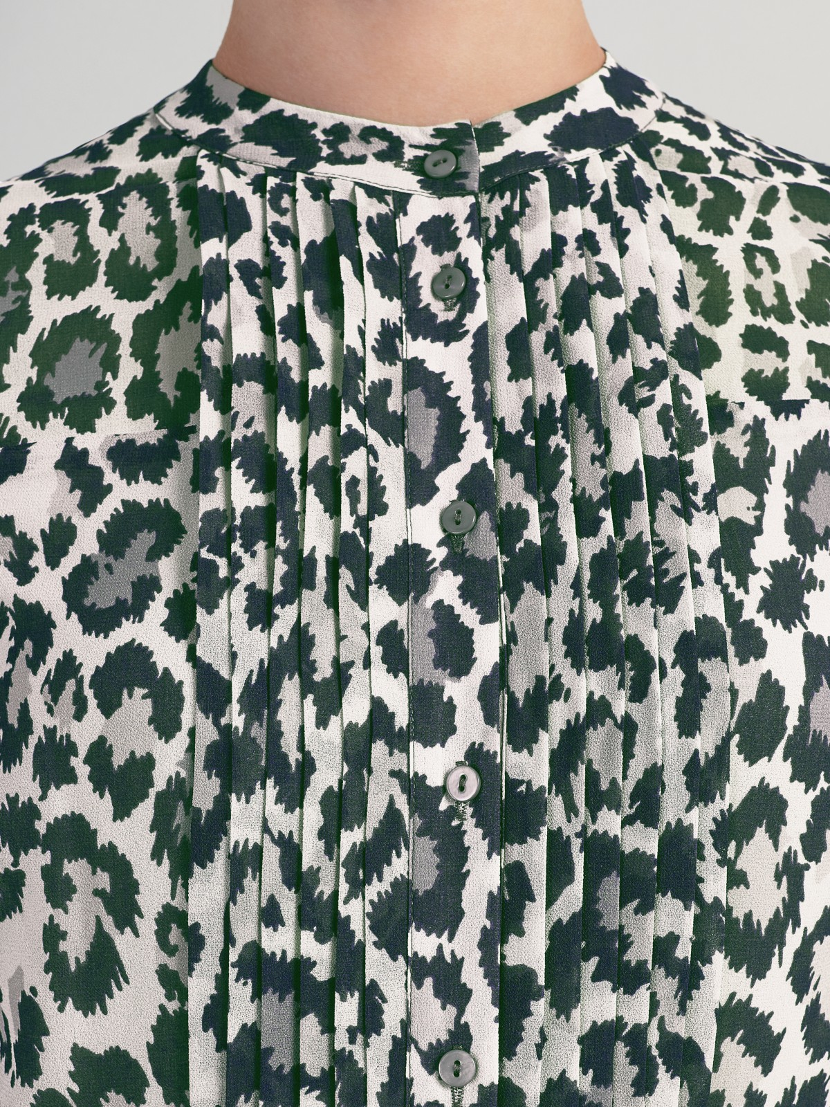 Somerset by Alice Temperley Animal Print Maxi Dress in Green - Lyst 12b03ea85