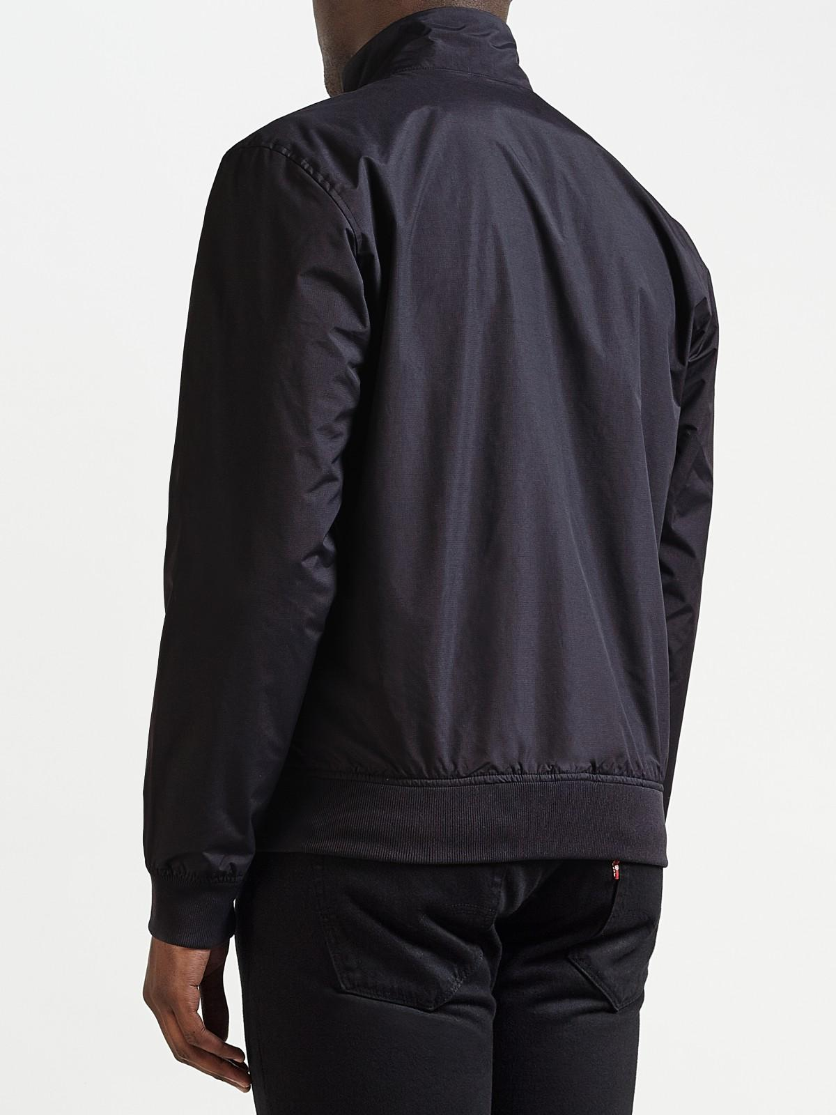 Fred Perry Brentham Jacket in Navy (Black) for Men