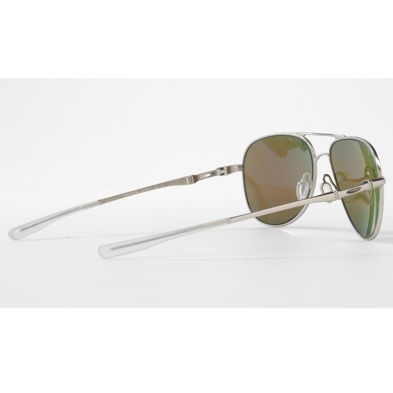 Oakley Oo4119 Elmont Medium Polarised Aviator Sunglasses
