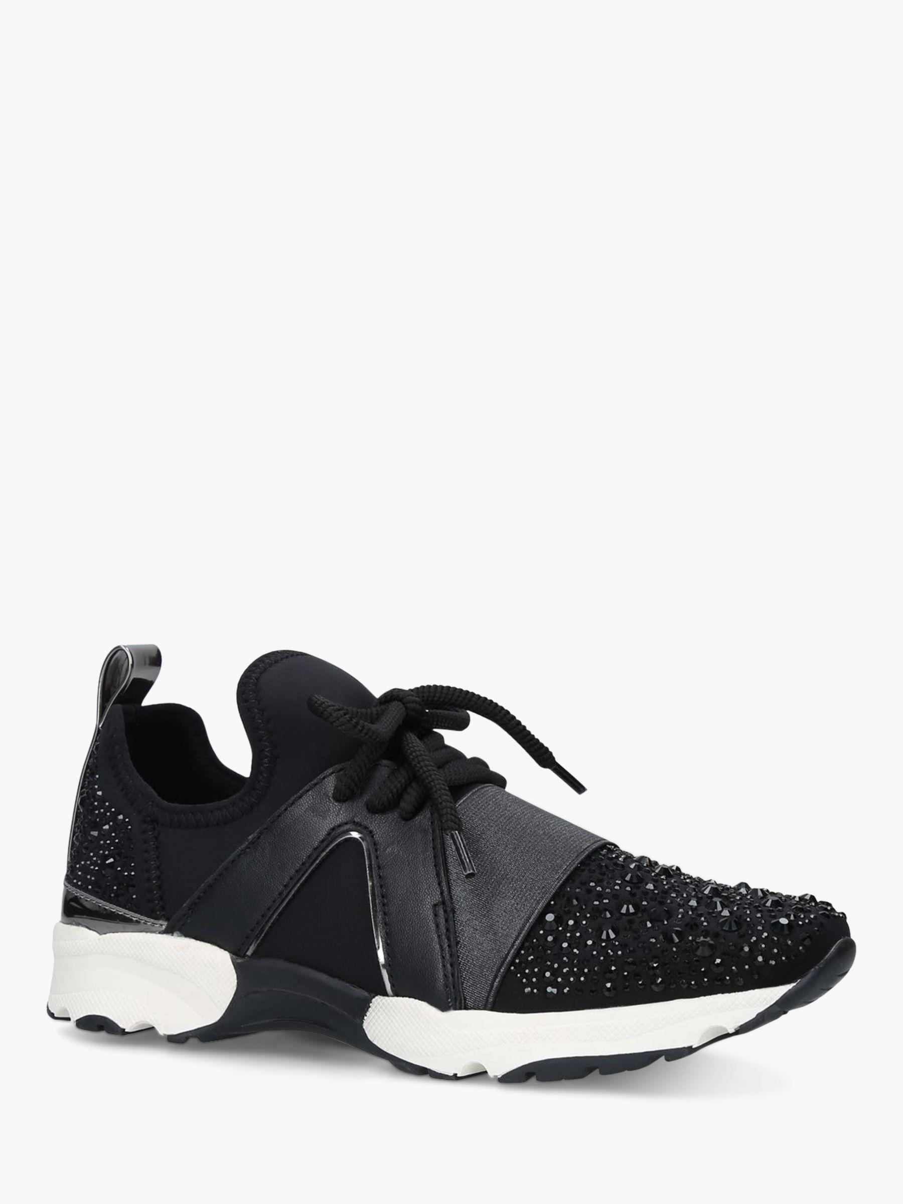 Lament Bling Lace Up Trainers in Black