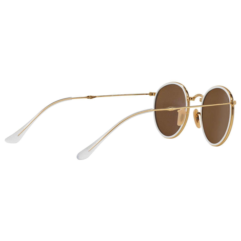 Ray-Ban Rb3517 Round Folding Sunglasses