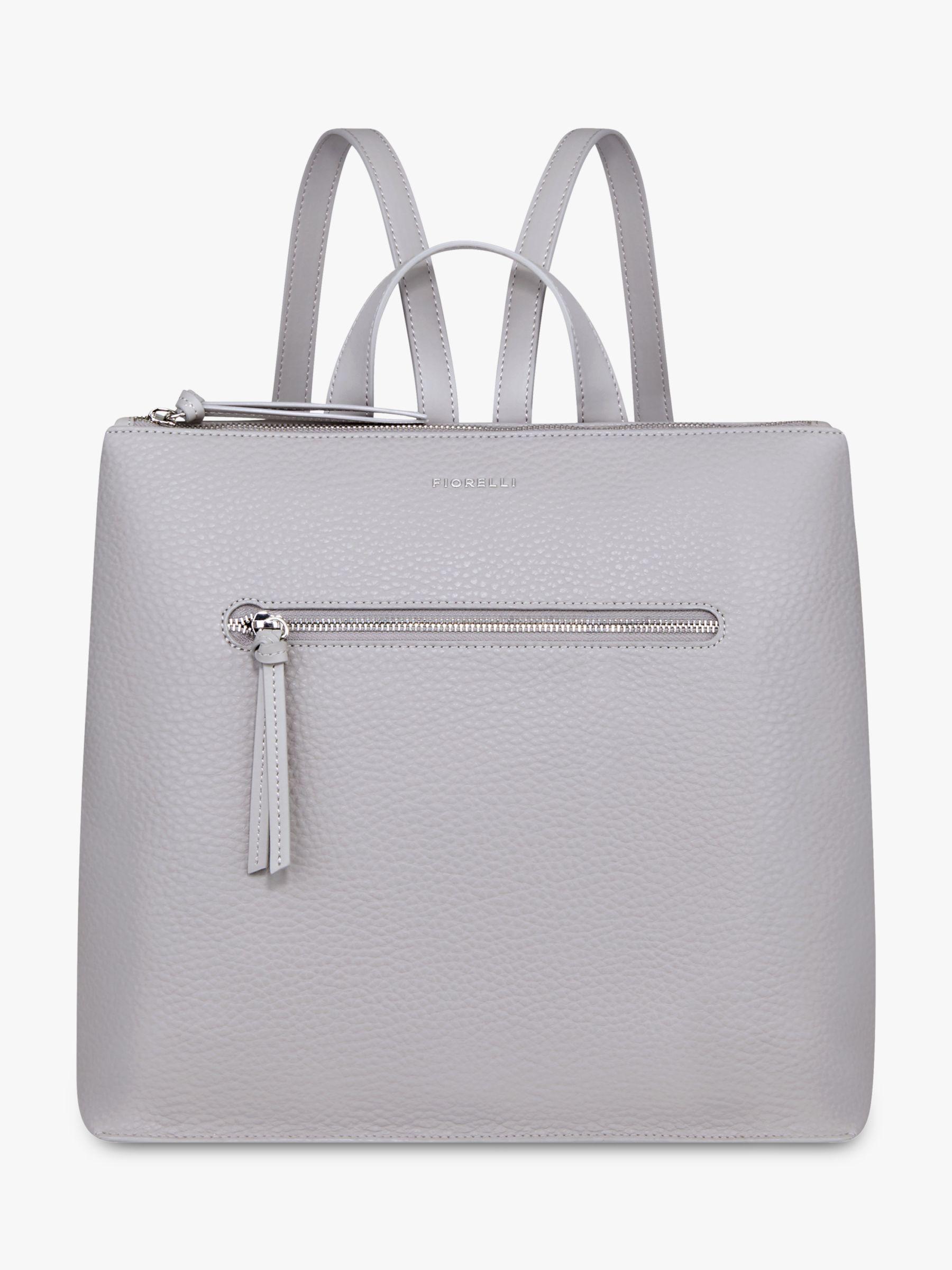 Fiorelli - Gray Finley Large Zip Top Backpack - Lyst. View fullscreen