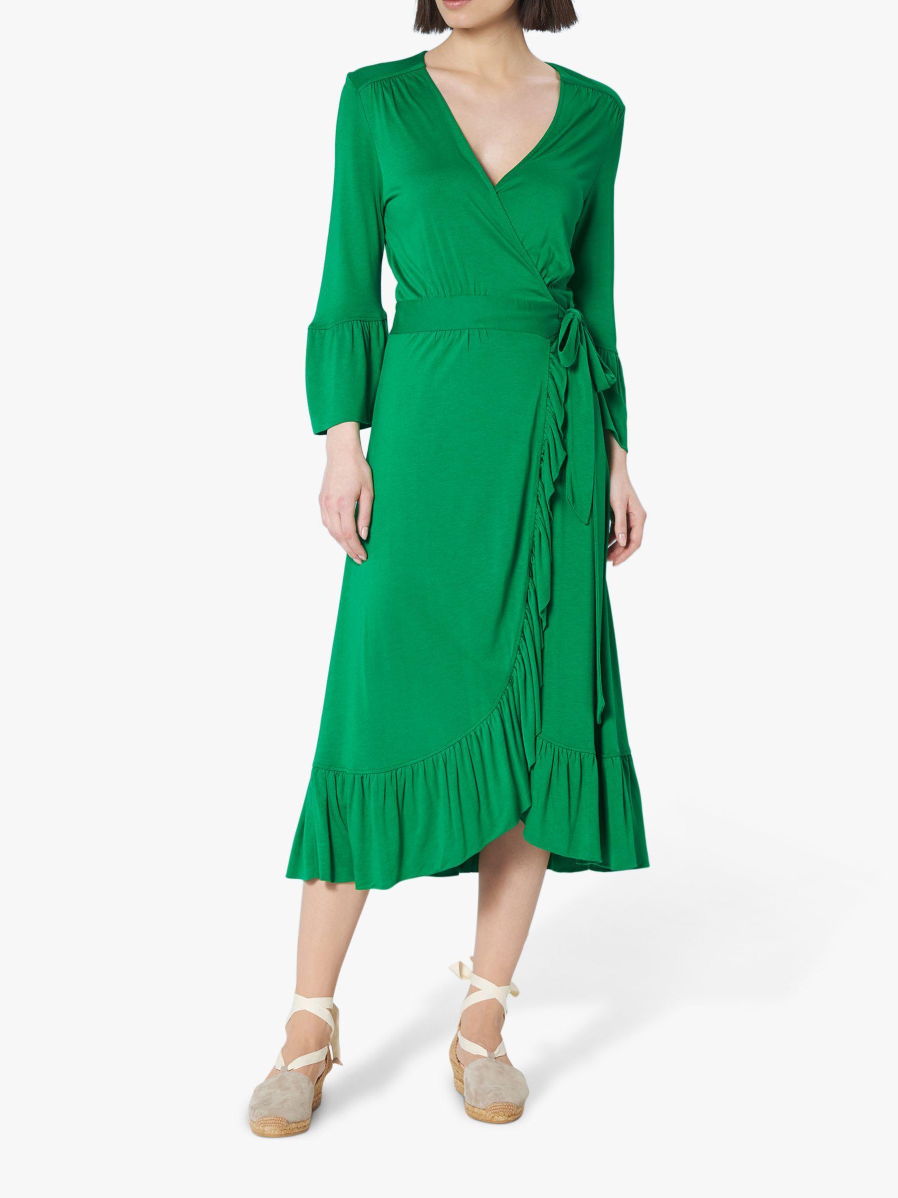 L K Bennett Synthetic Vika Dress In Green Lyst