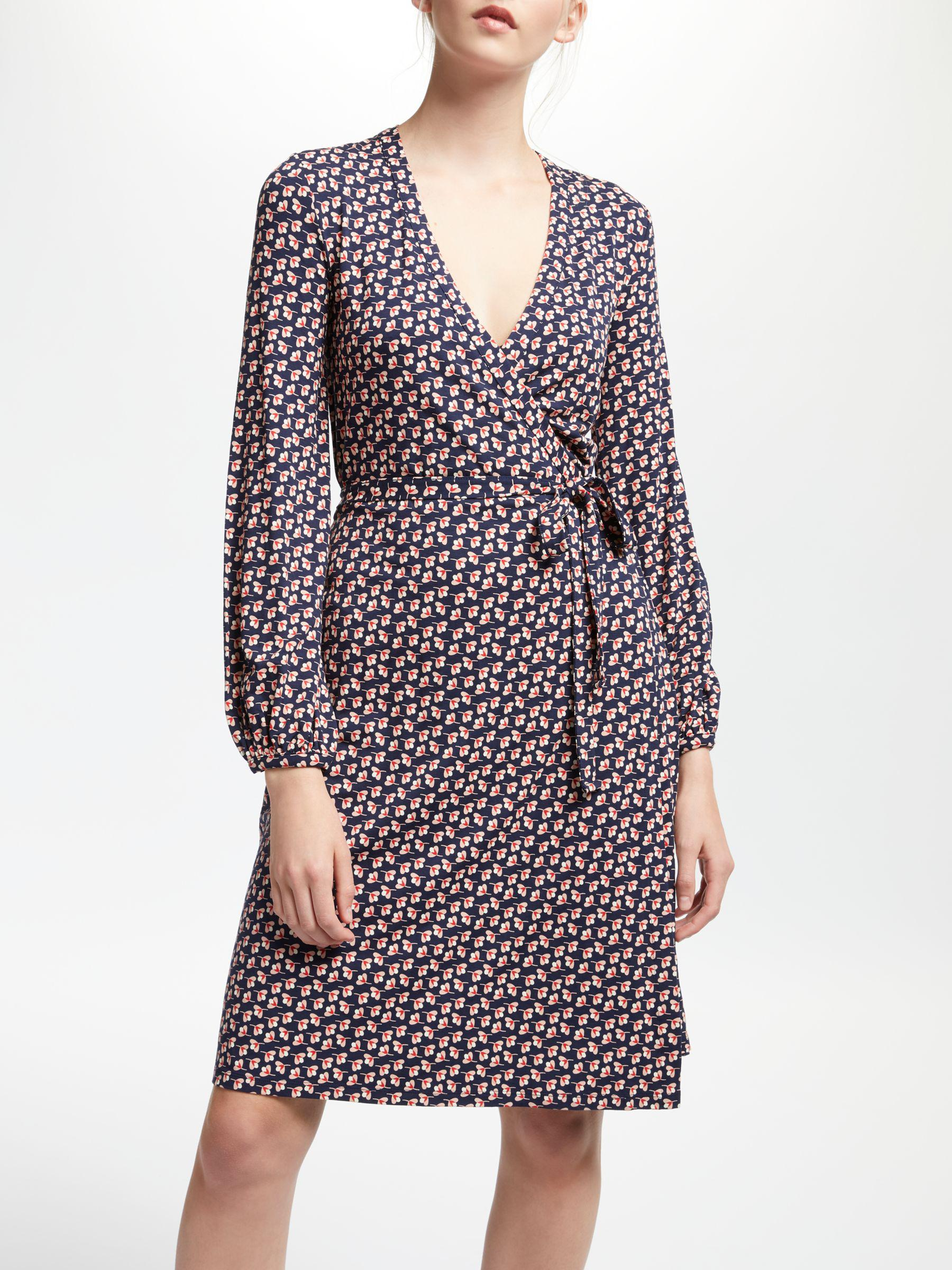 Boden Synthetic Elodie Jersey Wrap Dress Lyst