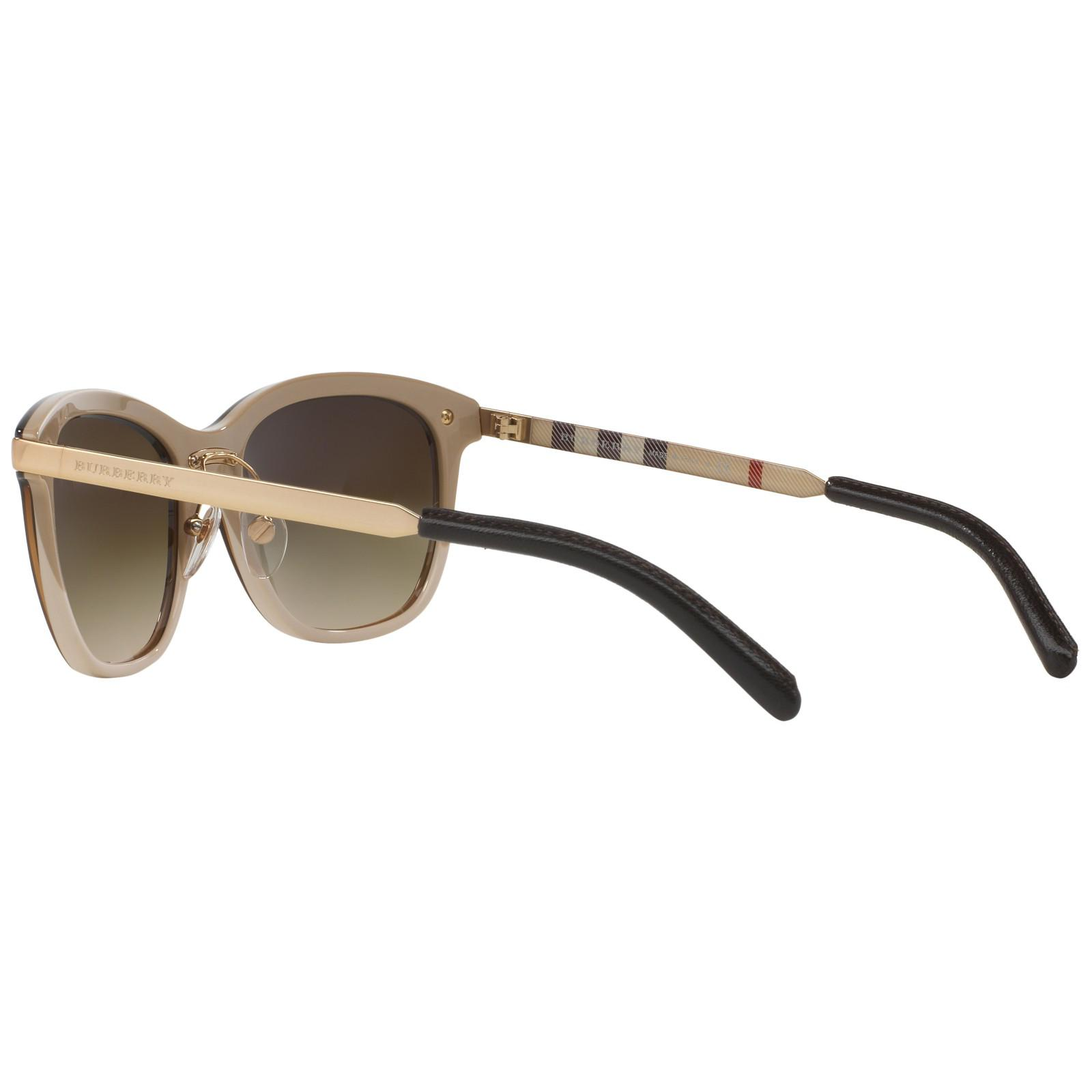 Burberry Be4169 Gradient Square Sunglasses in Brown