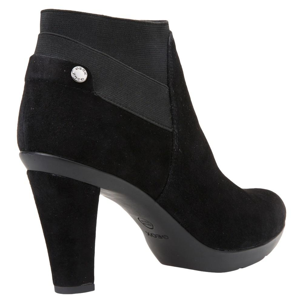 Geox D64g9b 00021 Ankle Boots Women Black Women's Low Ankle Boots In Black