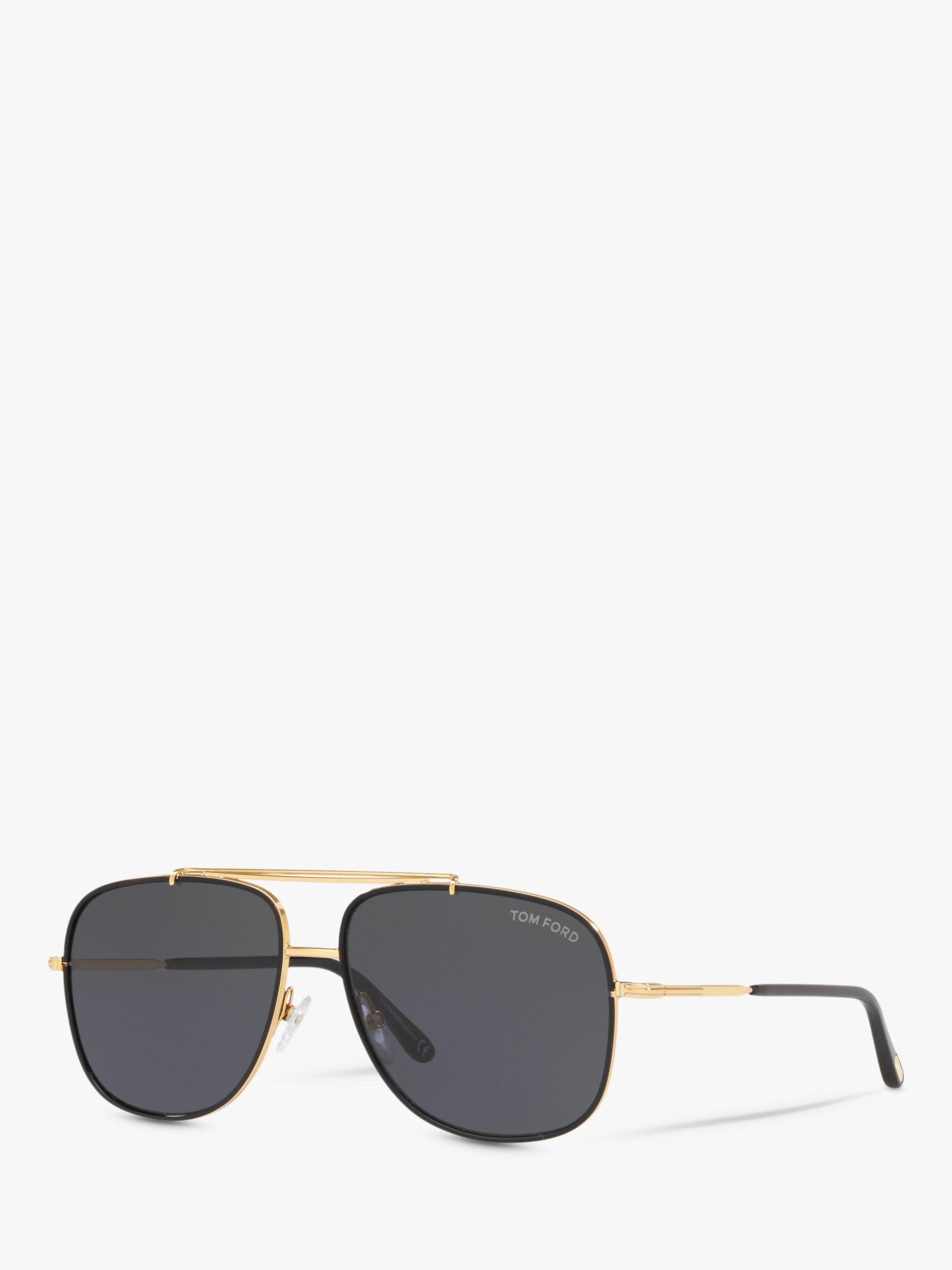 97c871ad947 Tom Ford - Black Ft0693 Men s Benton Square Sunglasses for Men - Lyst. View  fullscreen